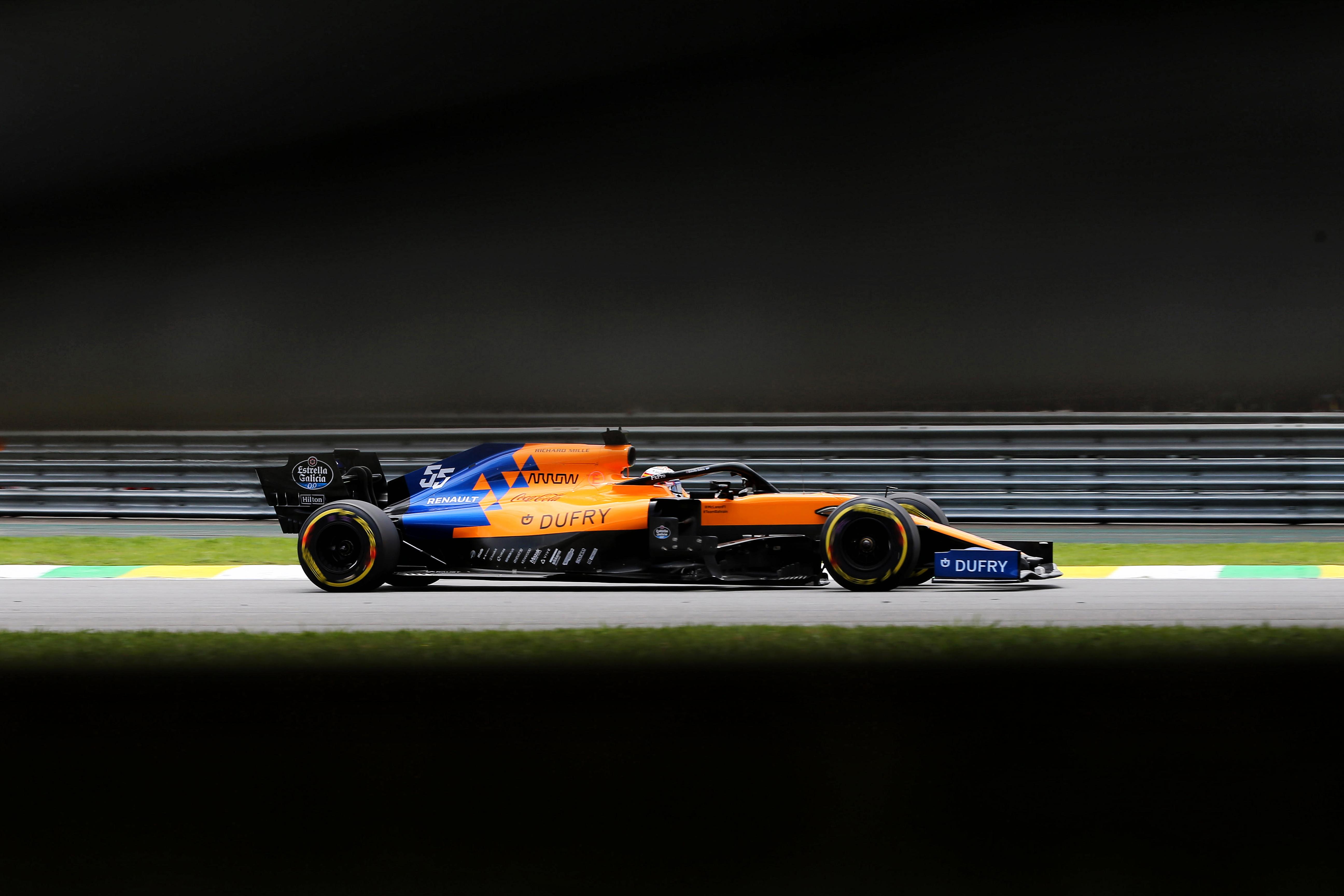 Carlos Sainz Jr McLaren Brazilian Grand Prix 2019 Interlagos