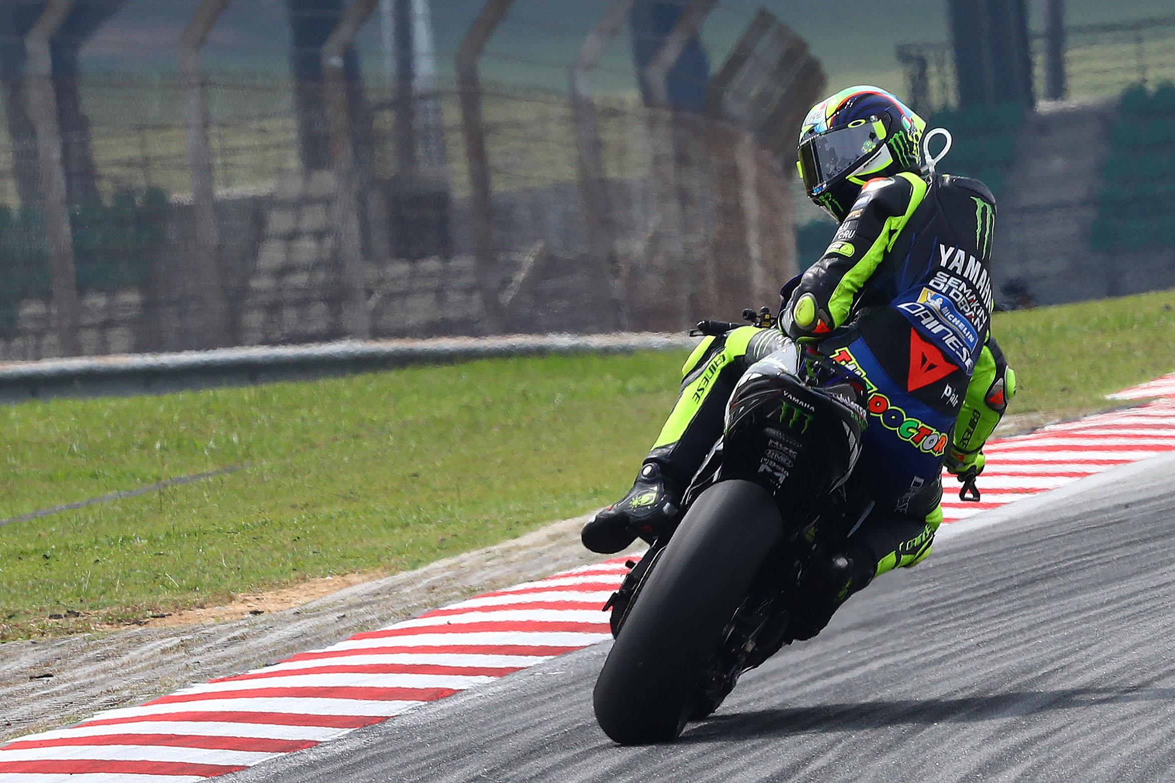 Valentino Rossi Yamaha Sepang MotoGP testing 2020