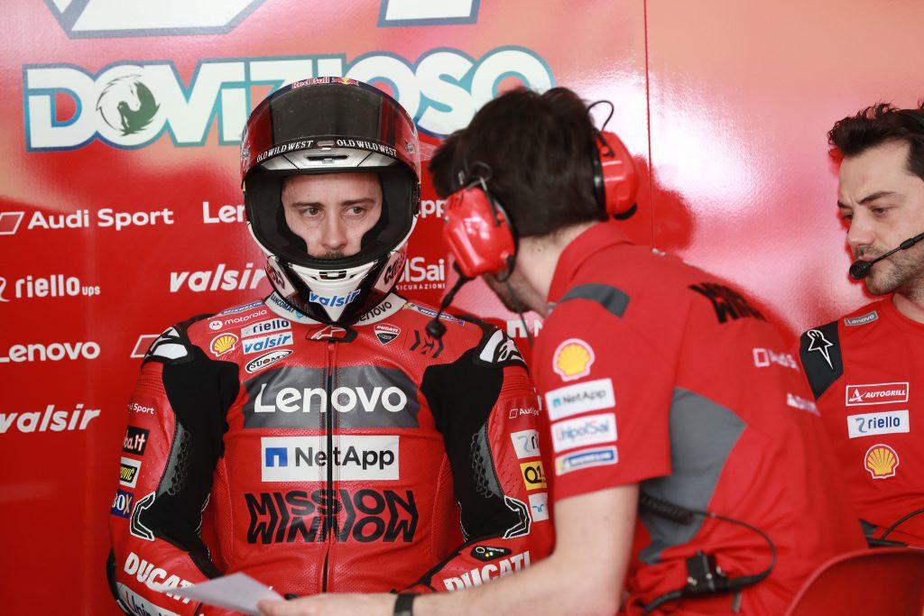 Andrea Dovizioso Ducati MotoGP Sepang 2020
