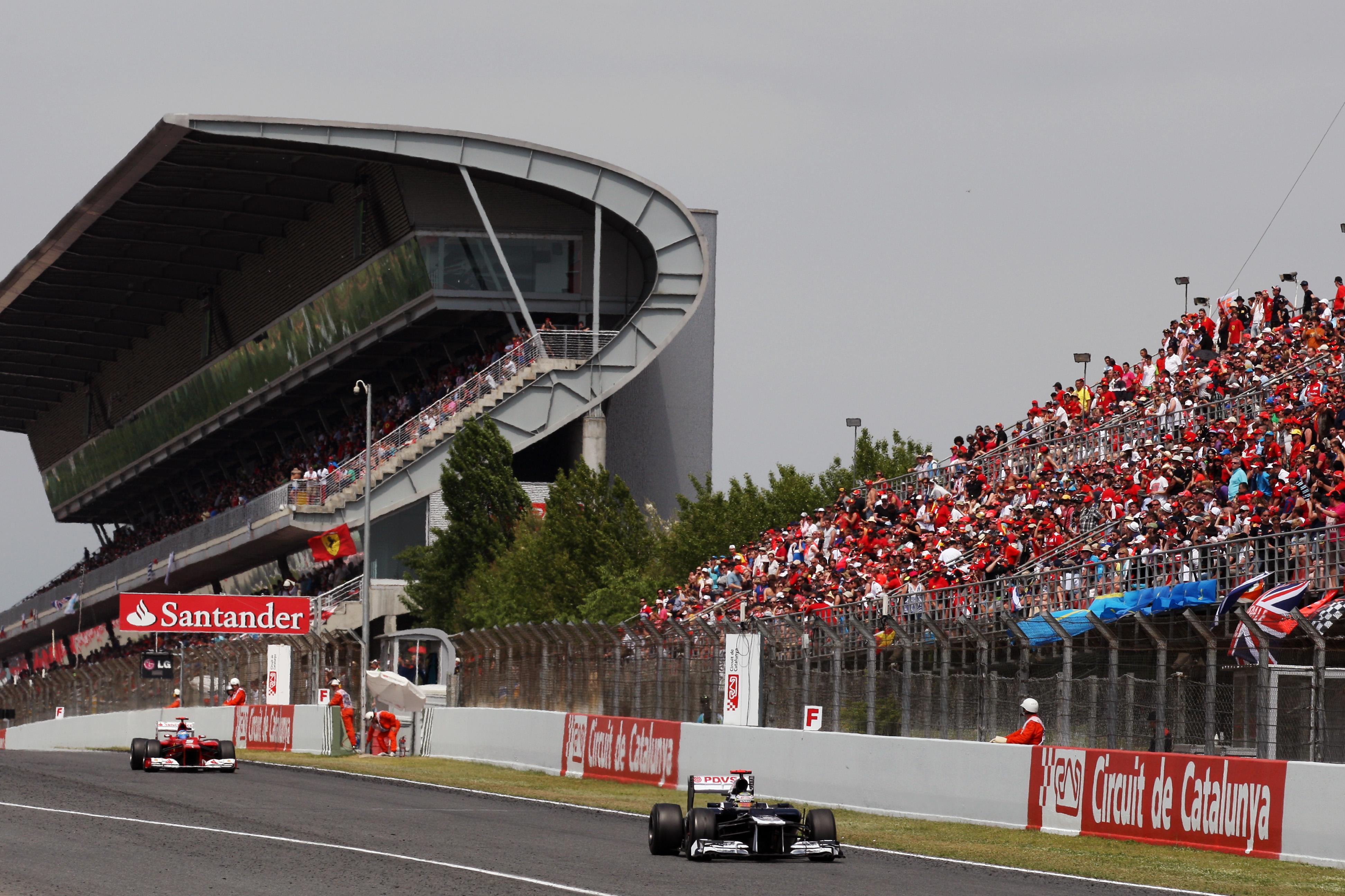 Pastor Maldonado Williams Spanish Grand Prix 2012 Barcelona