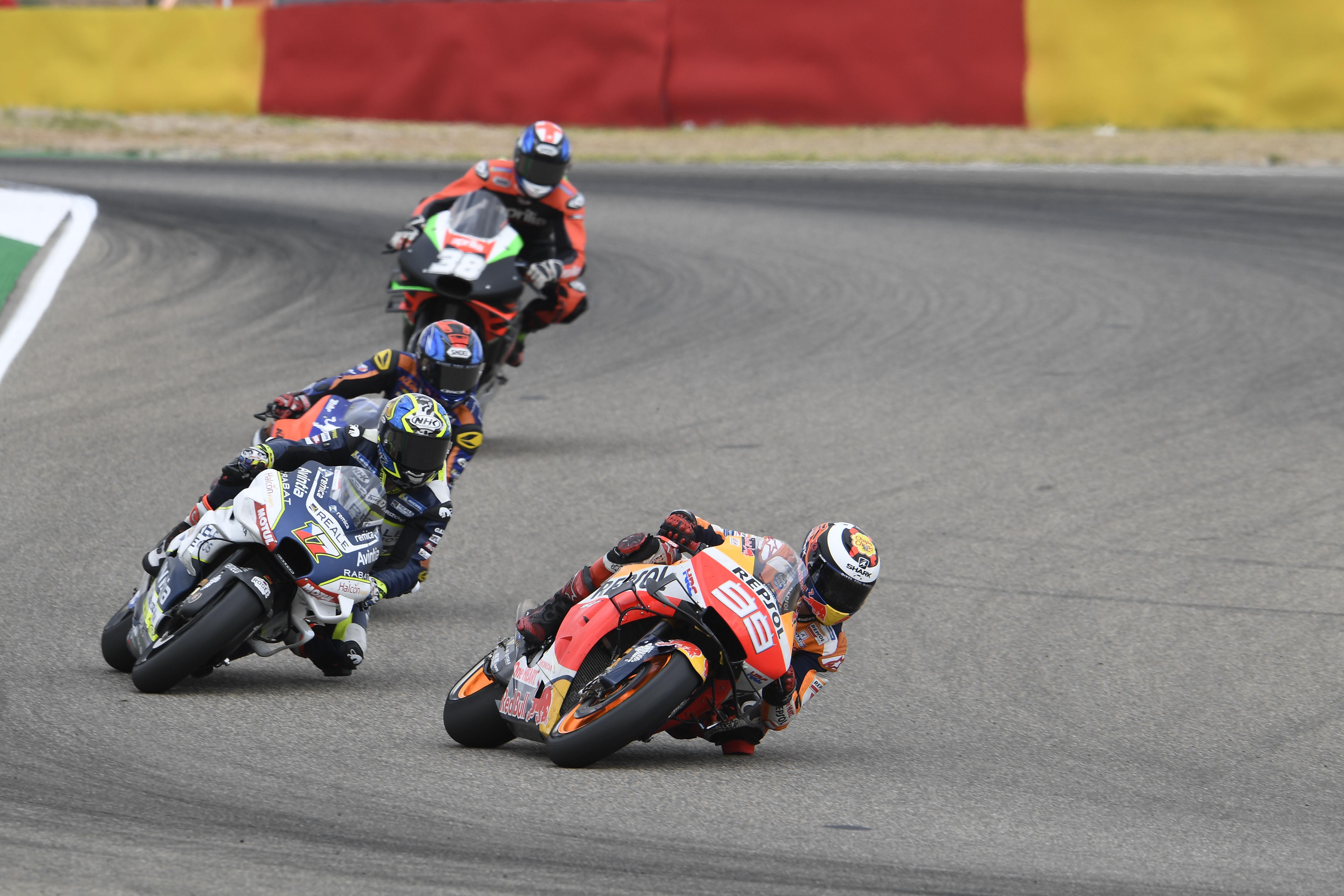 Jorge Lorenzo Honda Aragon MotoGP 2019