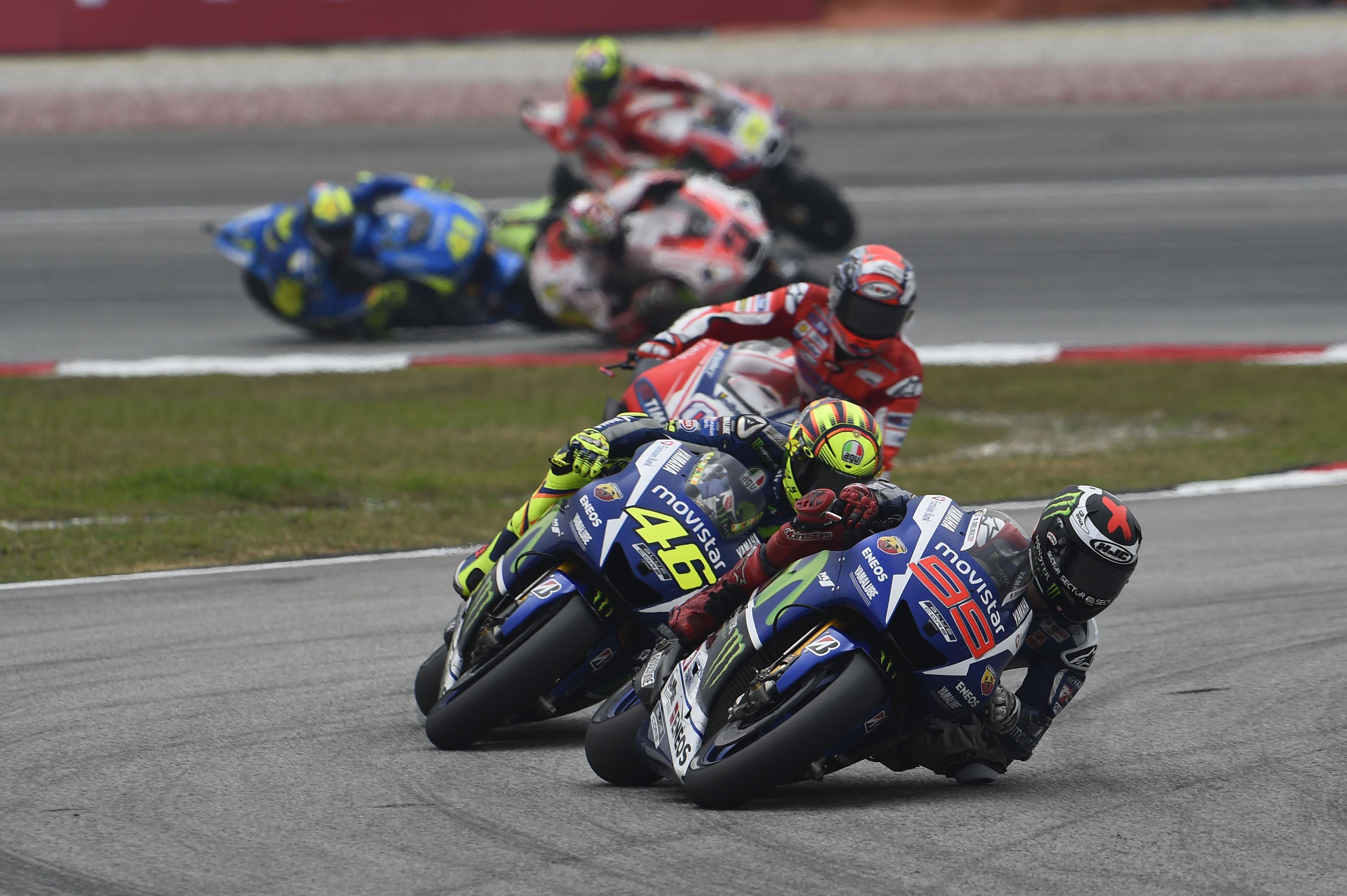 Jorge Lorenzo Yamaha Sepang MotoGP 2015