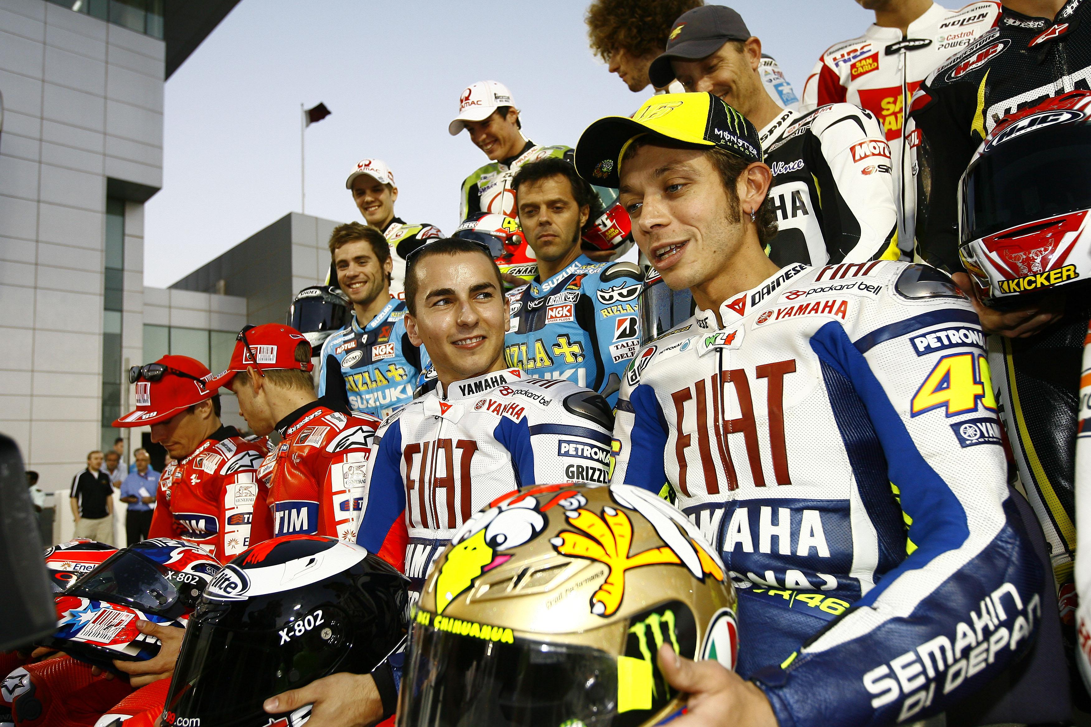 Jorge Lorenzo Valentino Rossi 2009