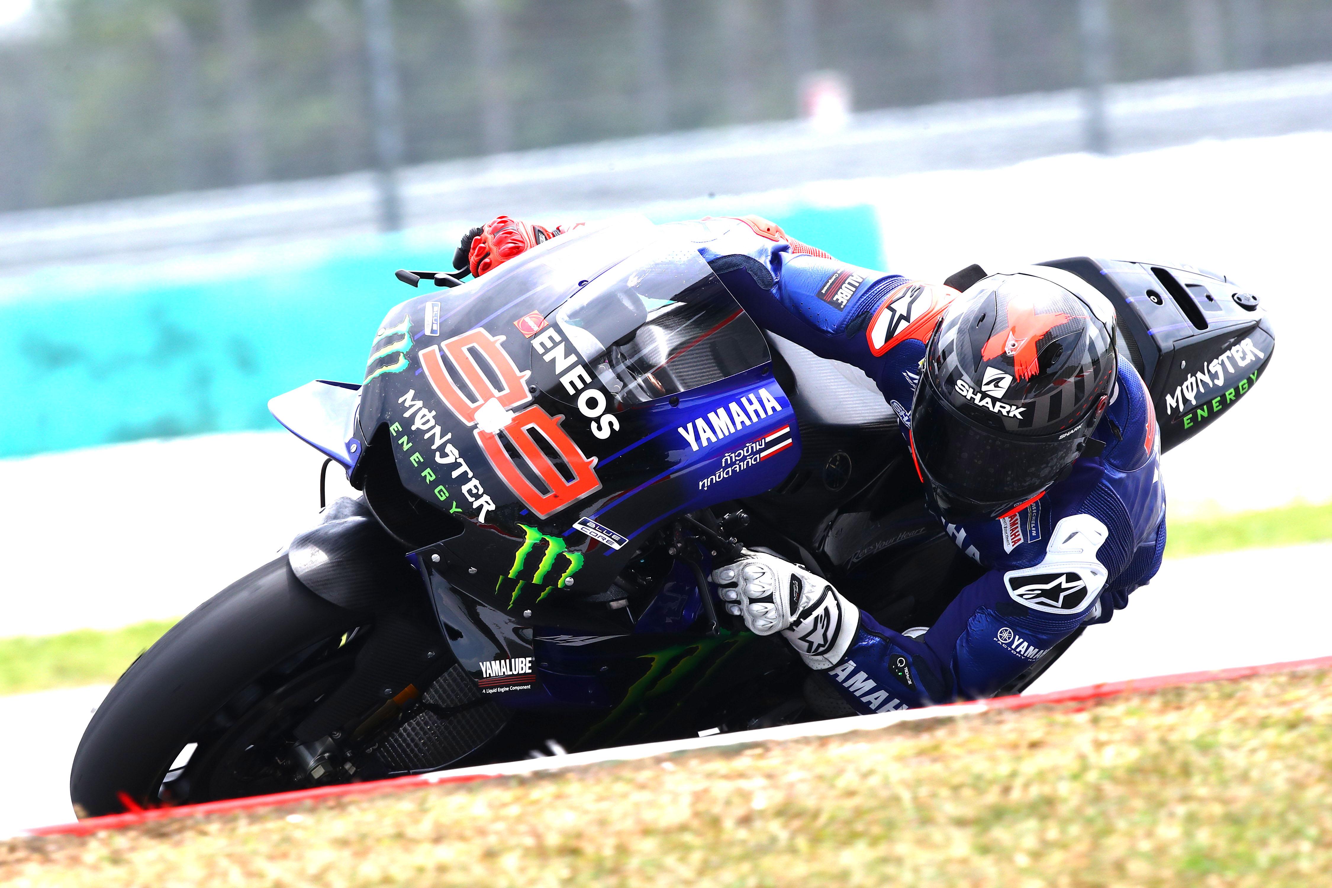 Jorge Lorenzo Yamaha Sepang MotoGP test 2020