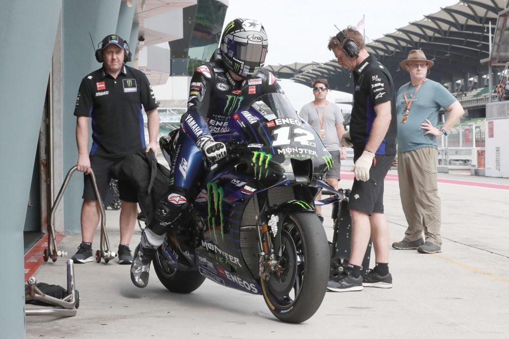 Maverick Vinales Yamaha Sepang MotoGP testing 2020