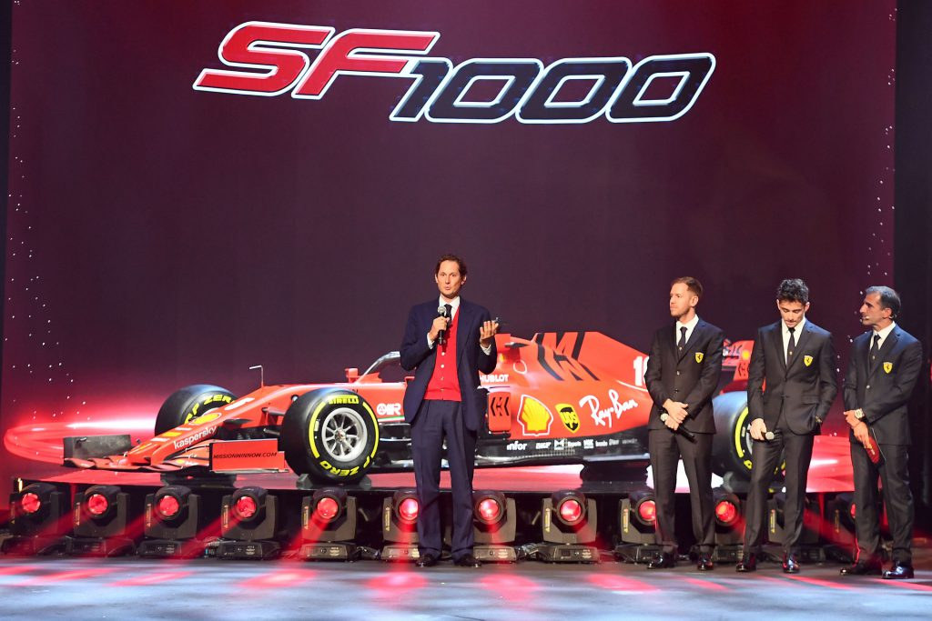 Ferrari 2020 F1 launch