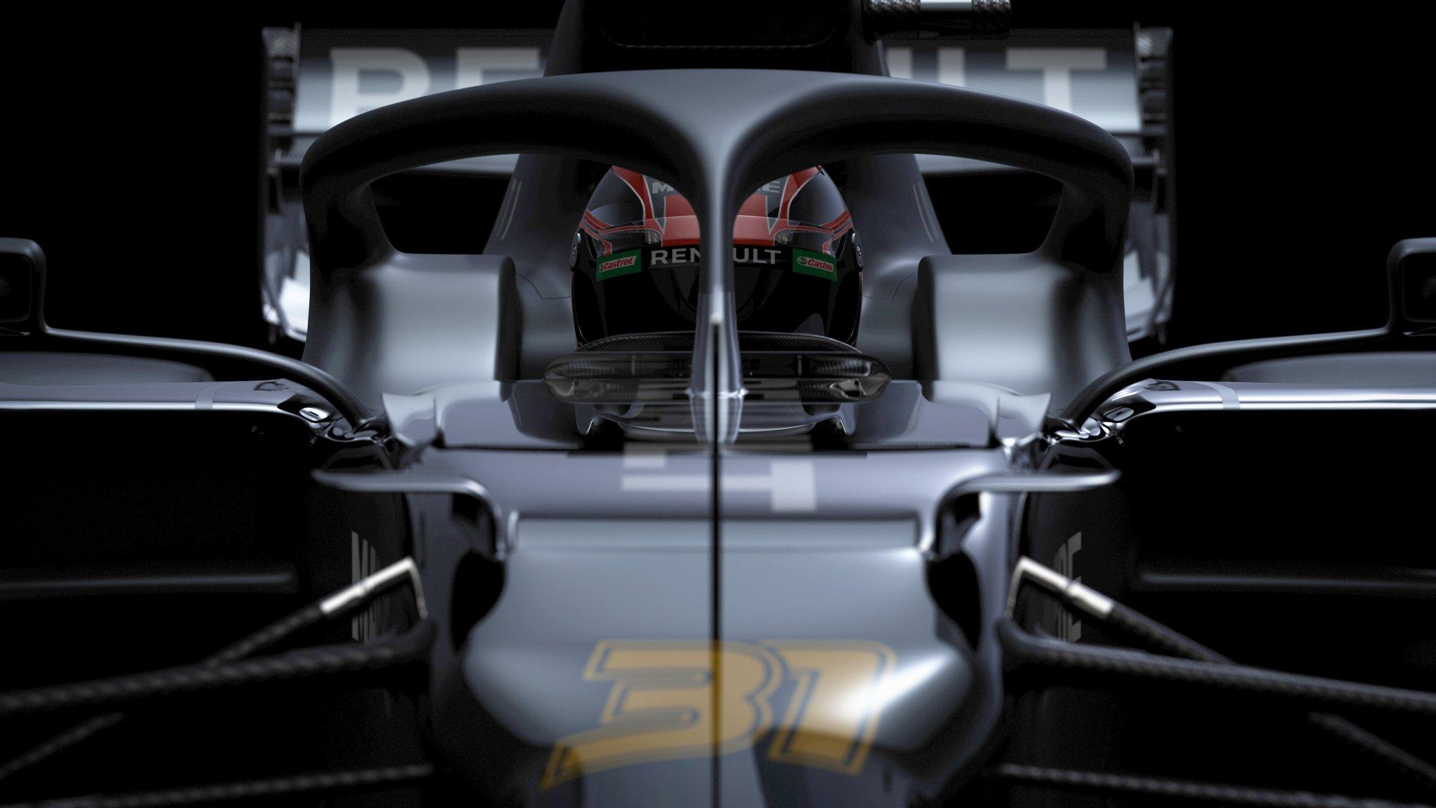 Renault 2020 F1 car teaser