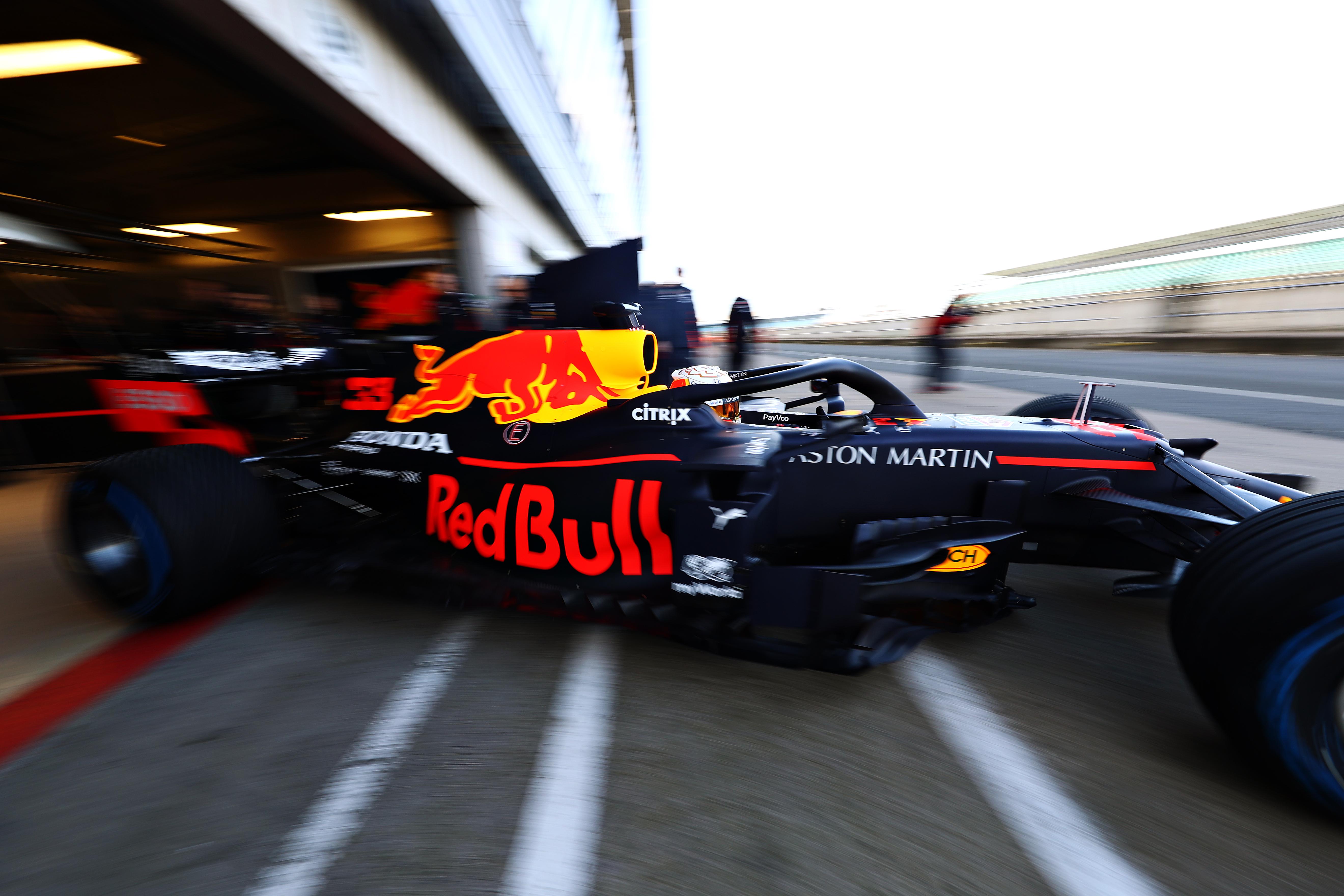 Red Bull 2020 F1 car shakedown