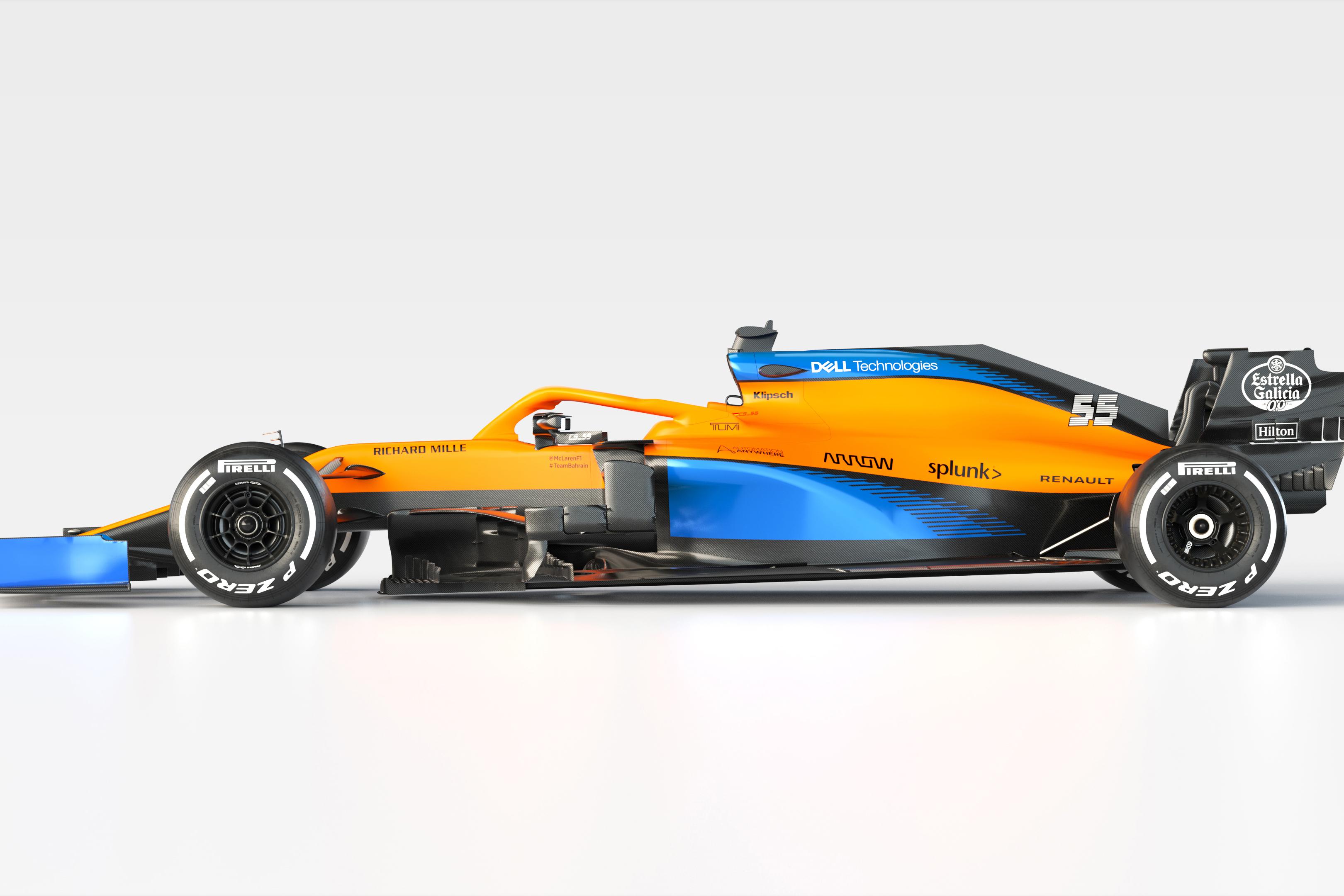 2020 Mcl35 Carlos Sainz Side Unbranded