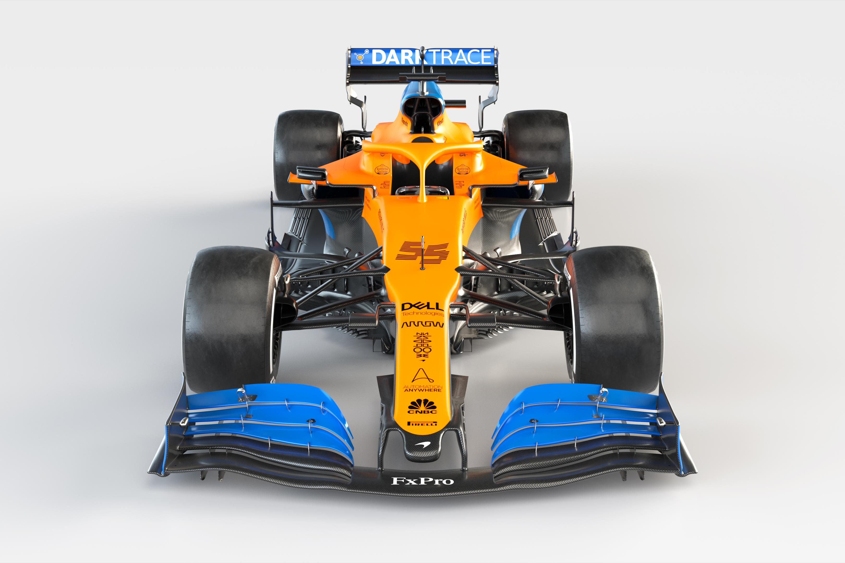 McLaren 2020 F1 car