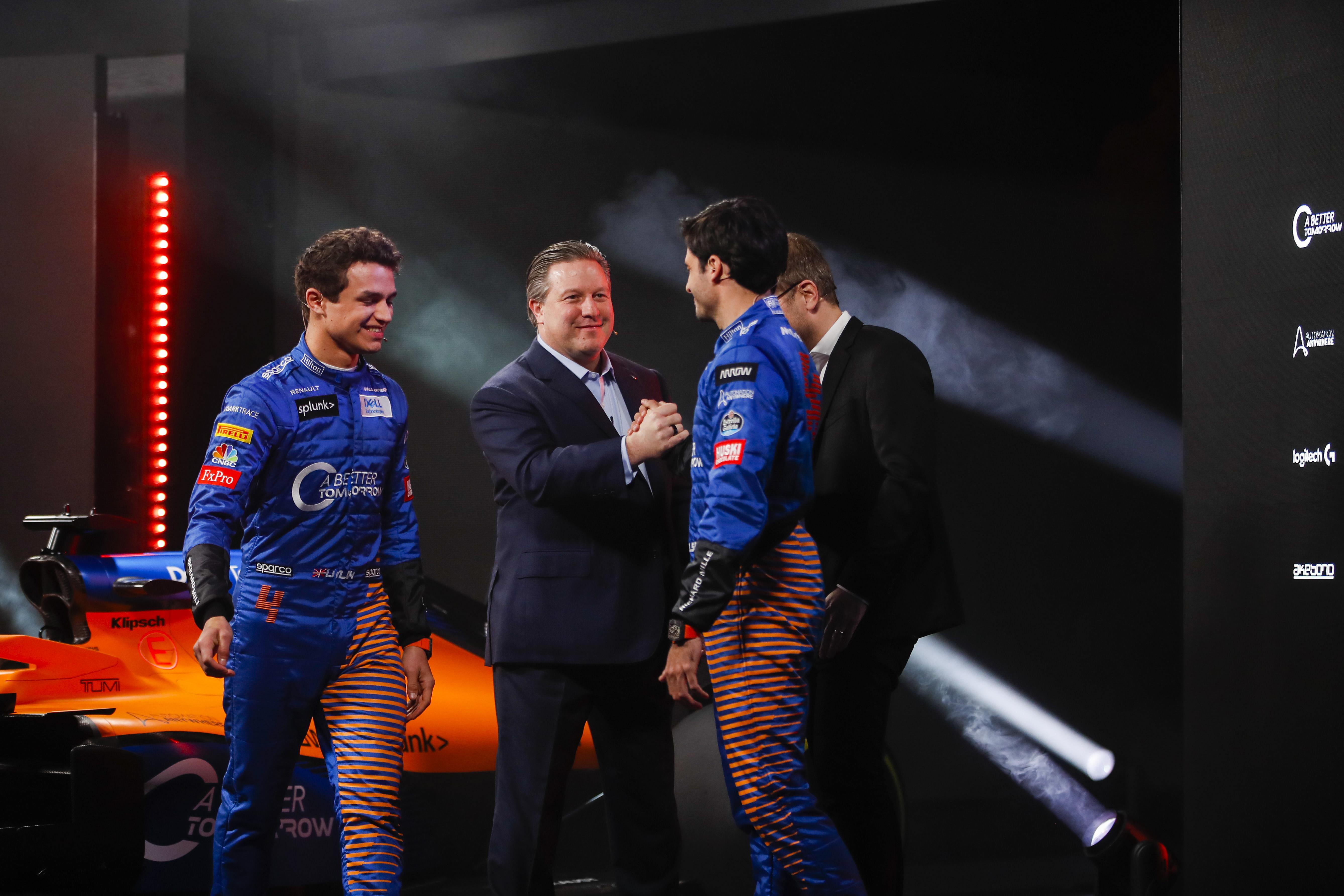 McLaren 2020 F1 car launch