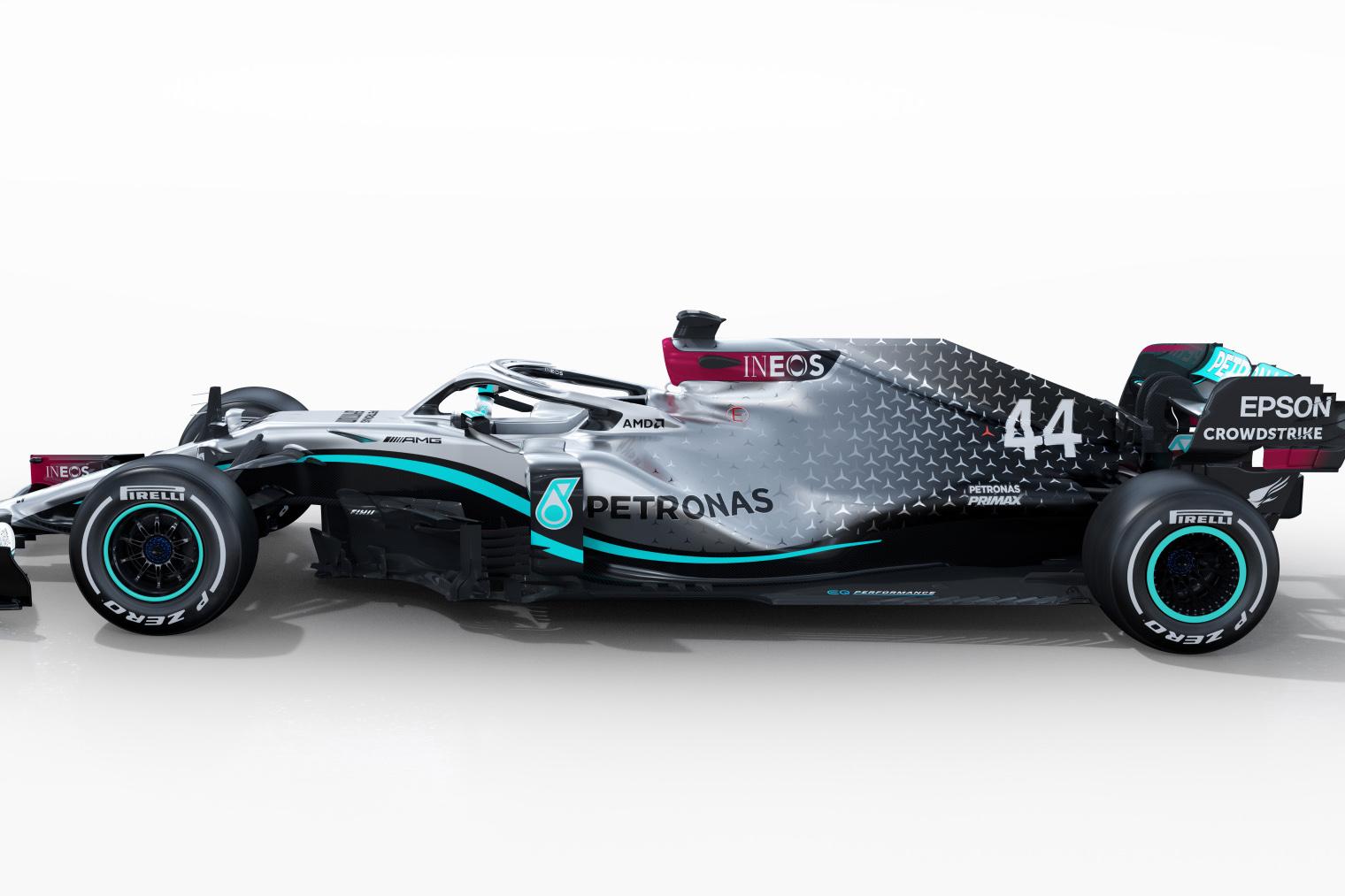 Mercedes Amg F1 W11 Eq Performance Render