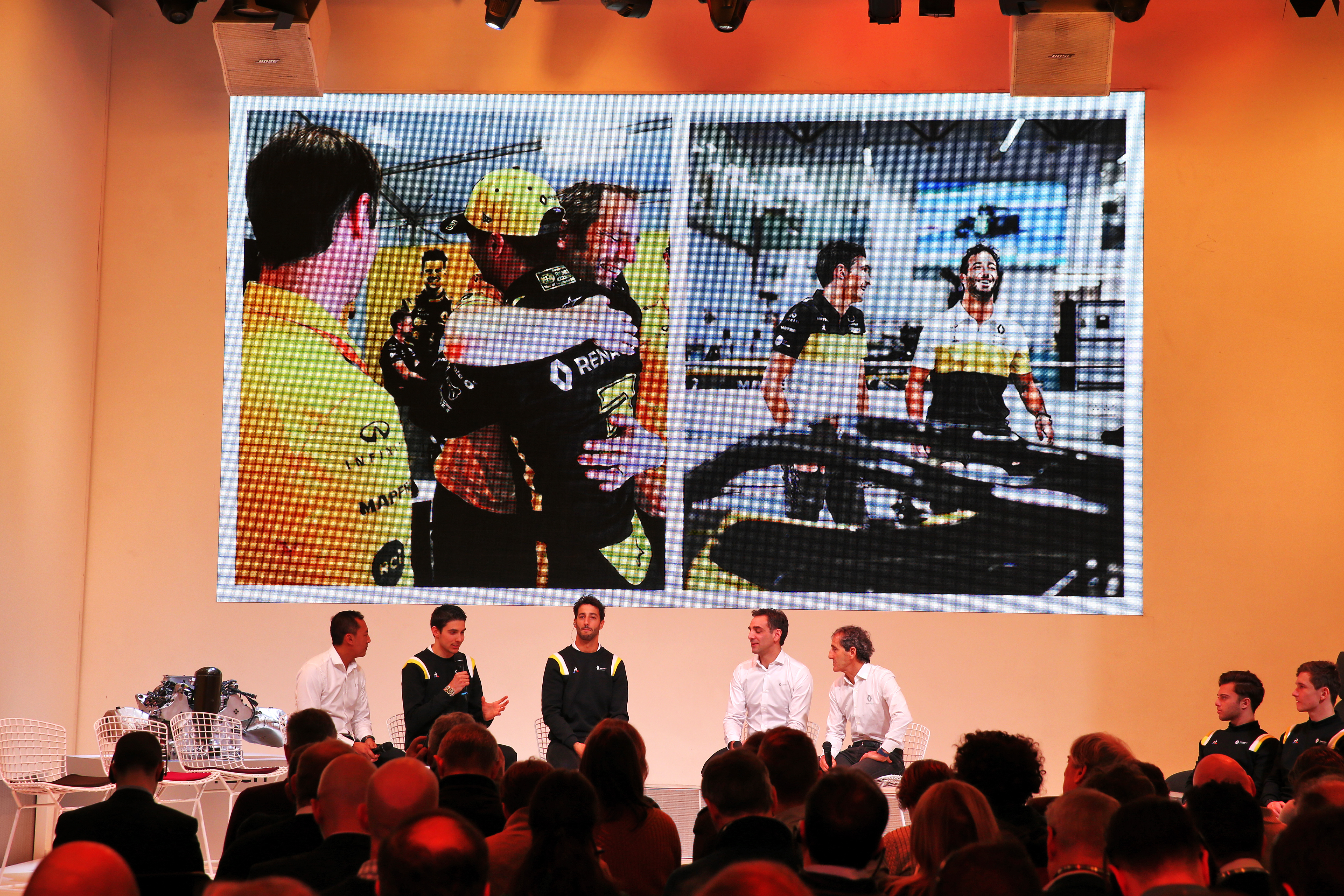 Renault F1 launch 2020