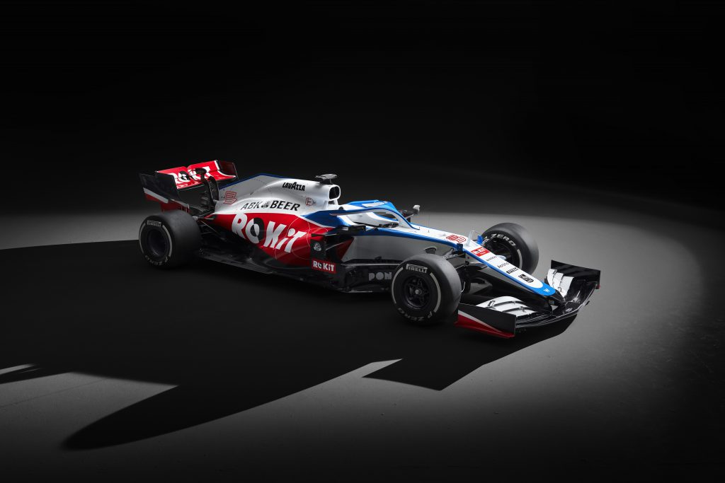 Williams 2020 F1 car