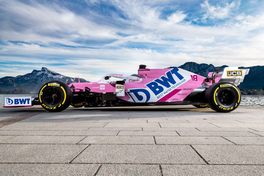Racing Point 2020 F1 livery