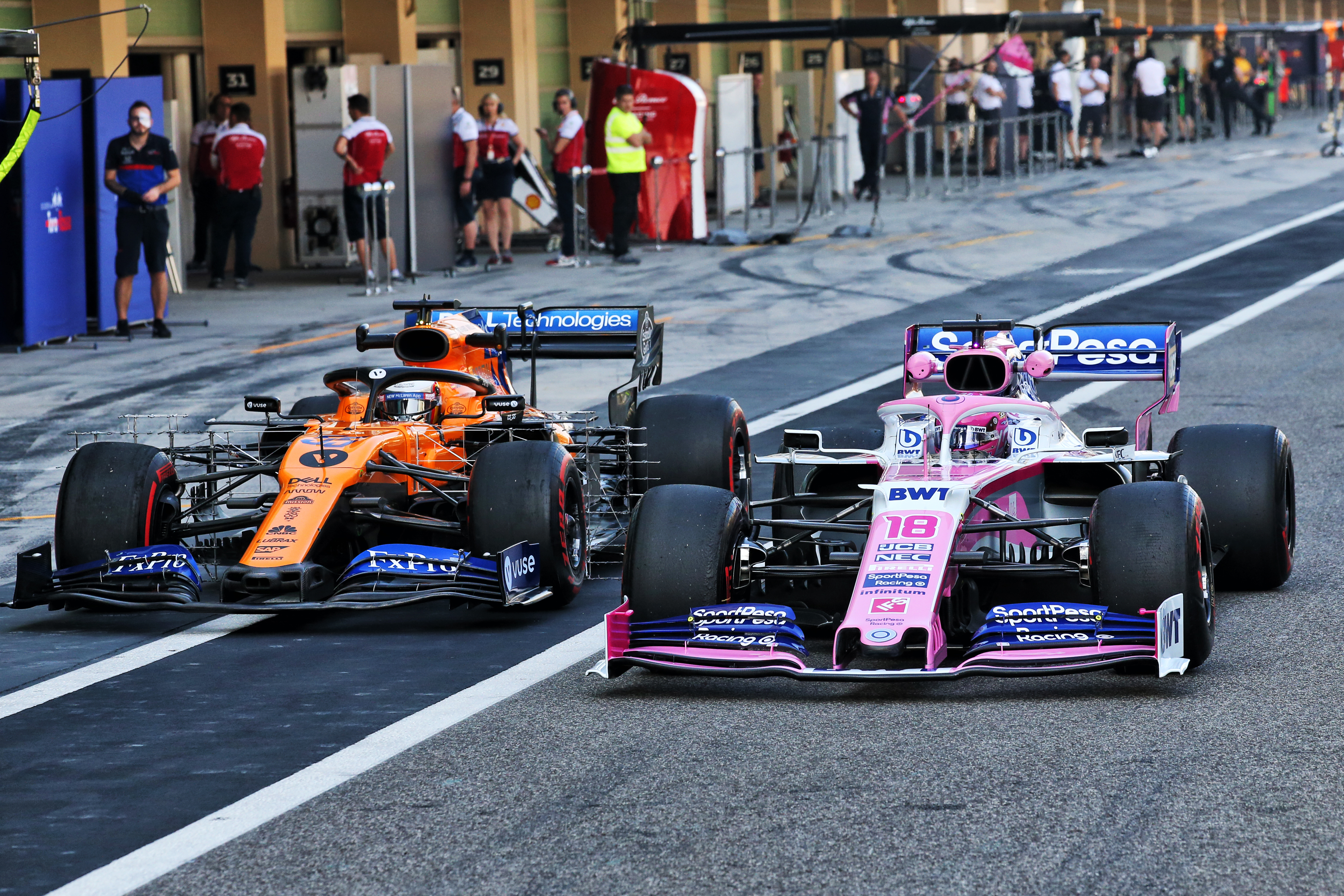 Racing Point McLaren F1 Abu Dhabi 2019