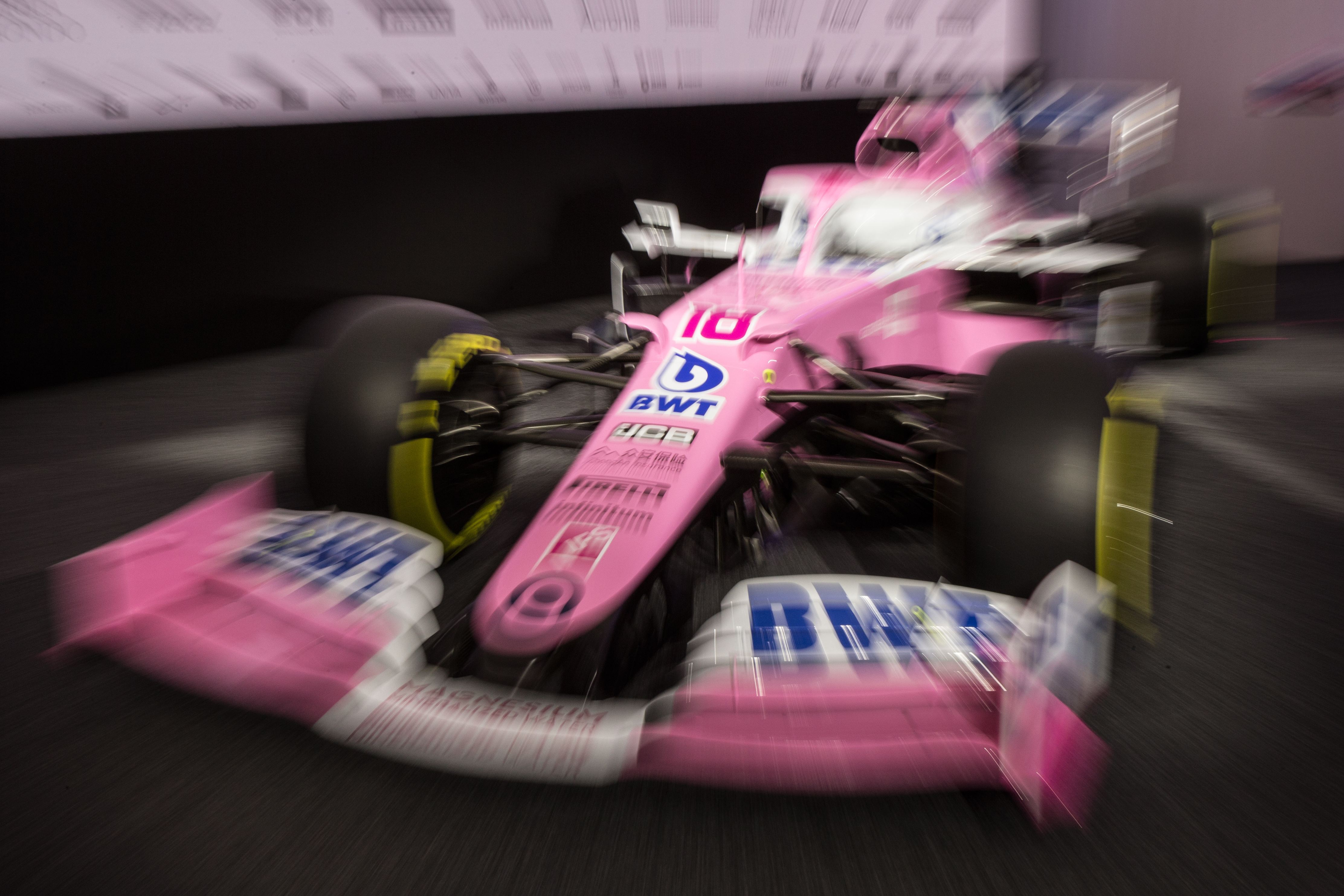Racing Point F1 2020 livery launch