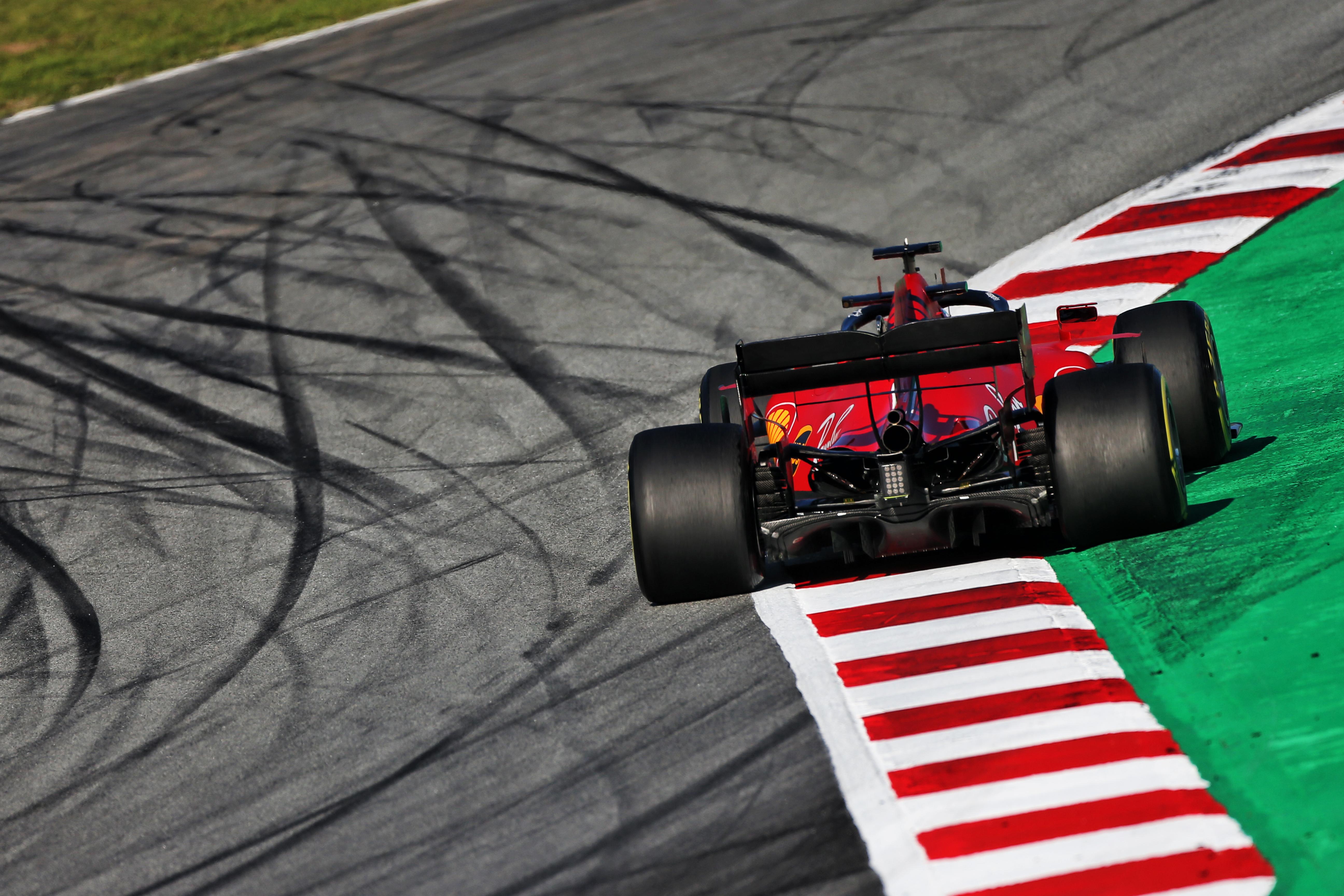Ferrari F1 testing Barcelona 2020