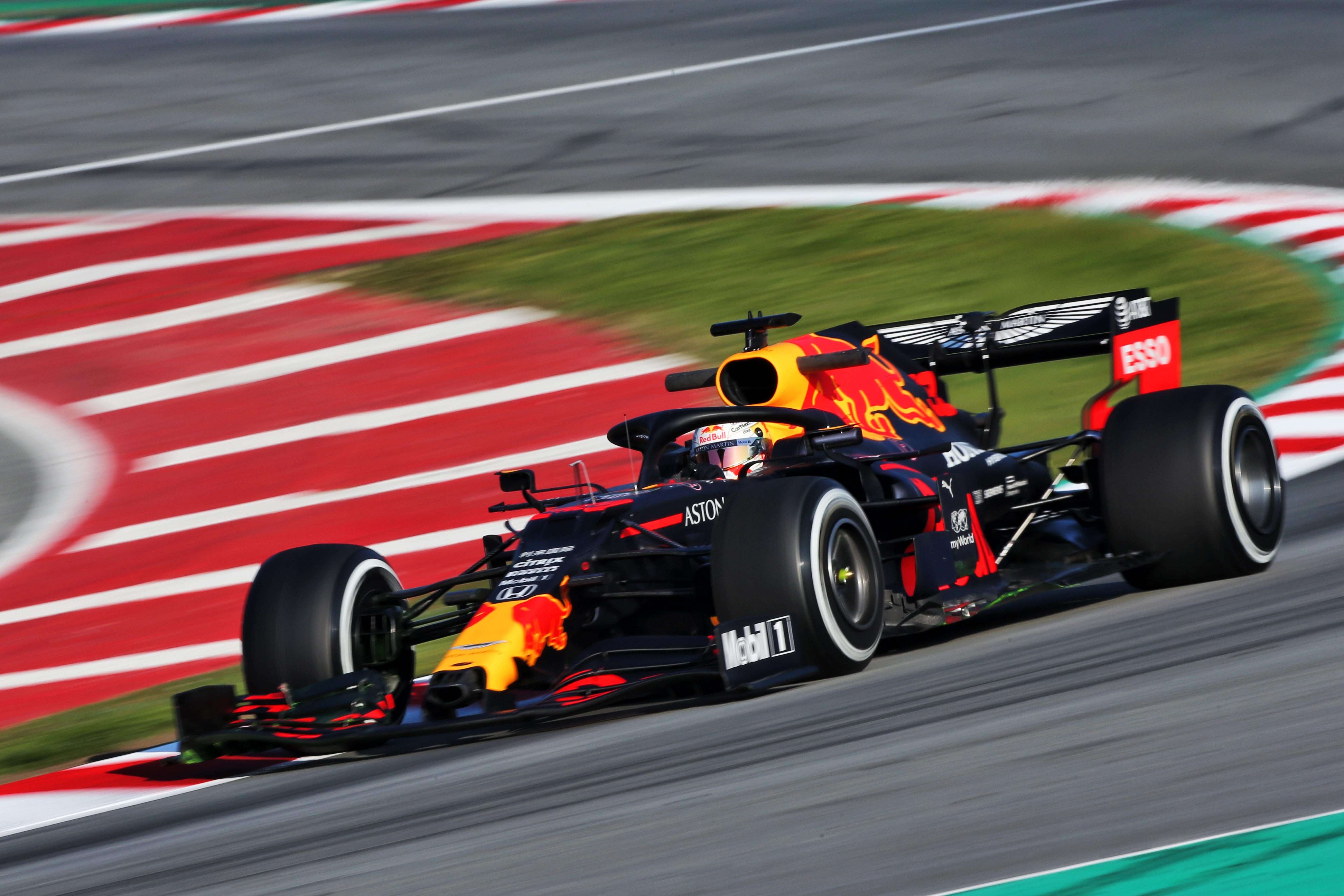 Max Verstappen, Red Bull Barcelona F1 testing 2020