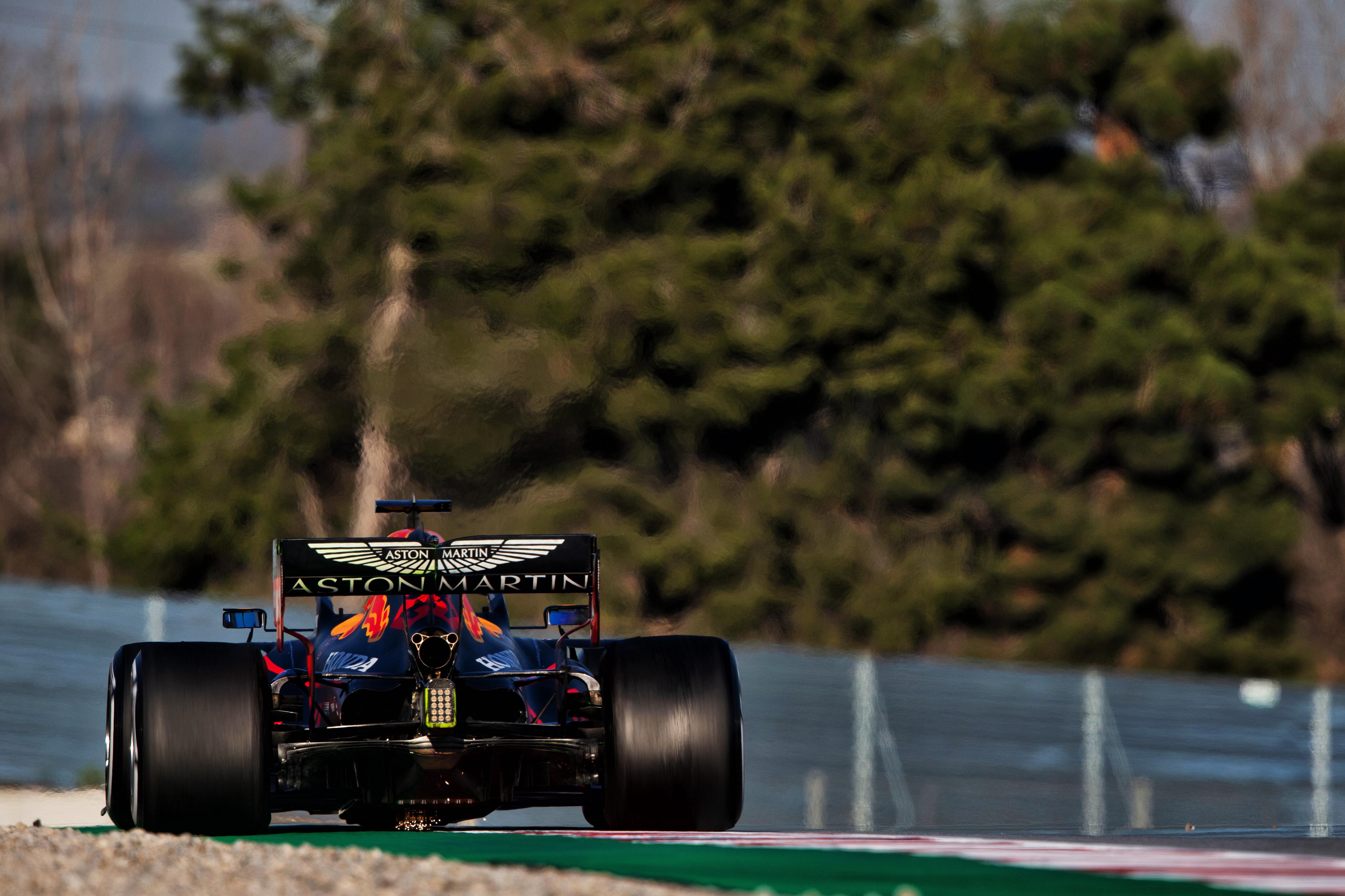 Alex Albon Red Bull Barcelona F1 testing 2020