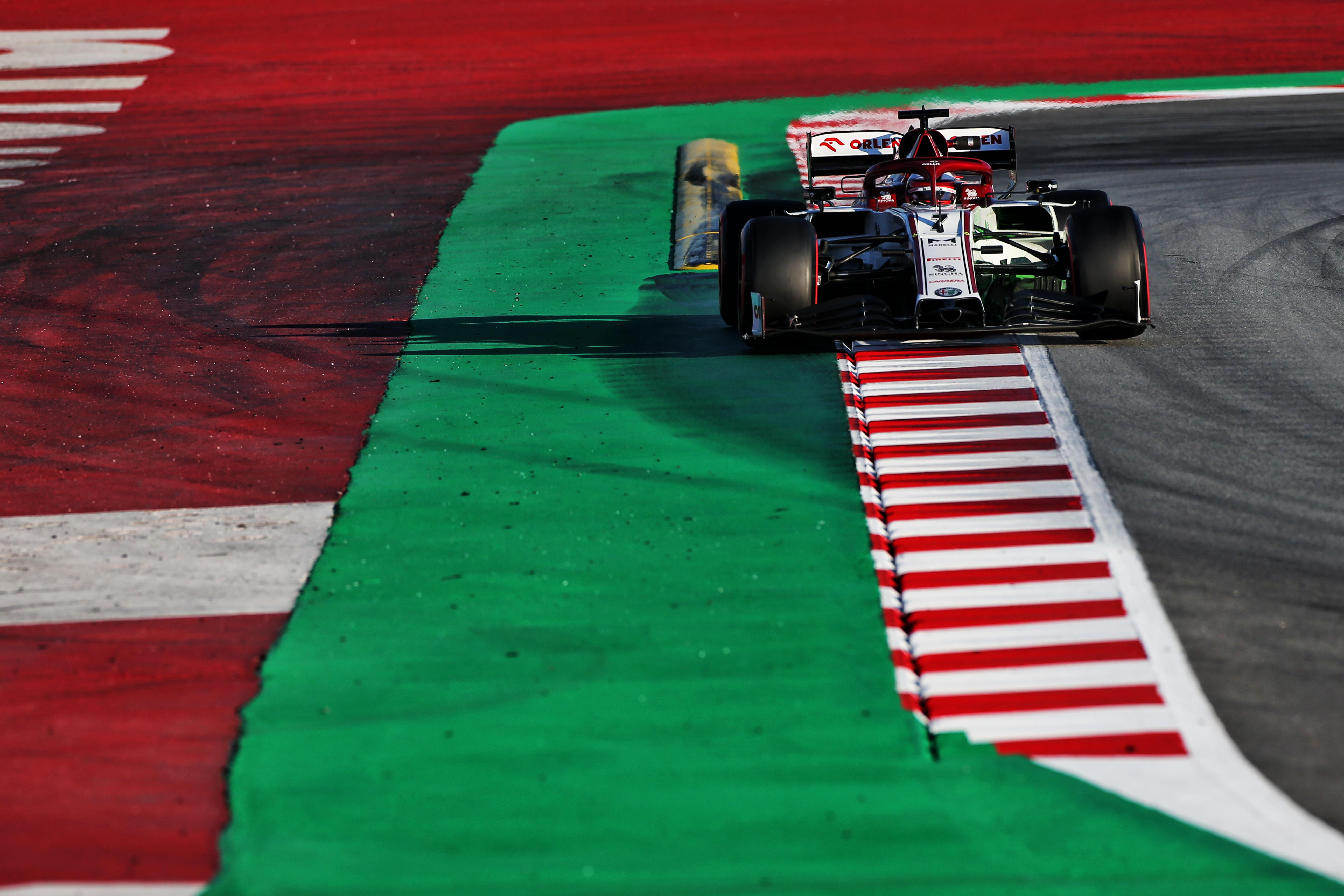 Kimi Raikkonen Alfa Romeo Barcelona F1 testing 2020