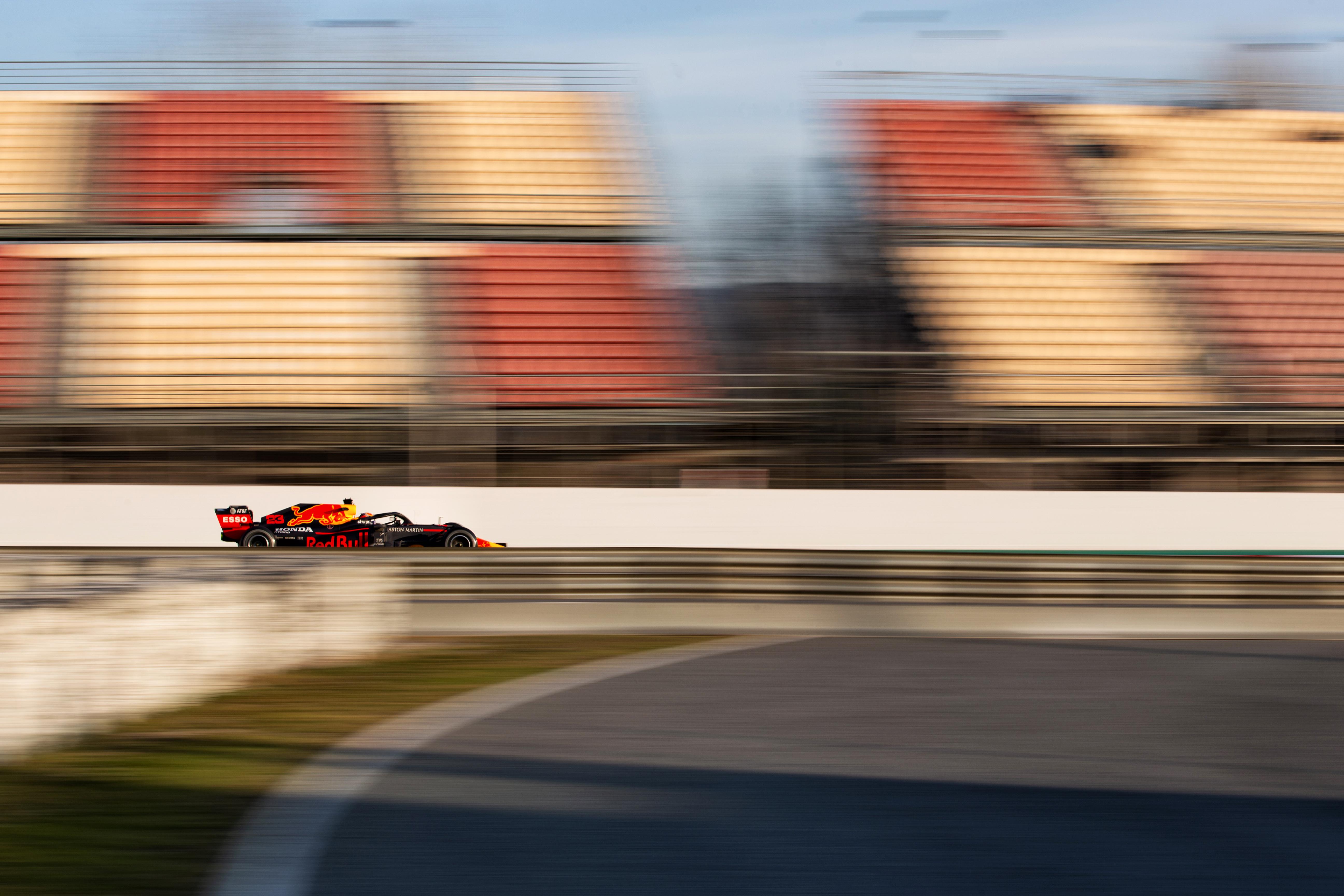 Red Bull F1 testing Barcelona 2020