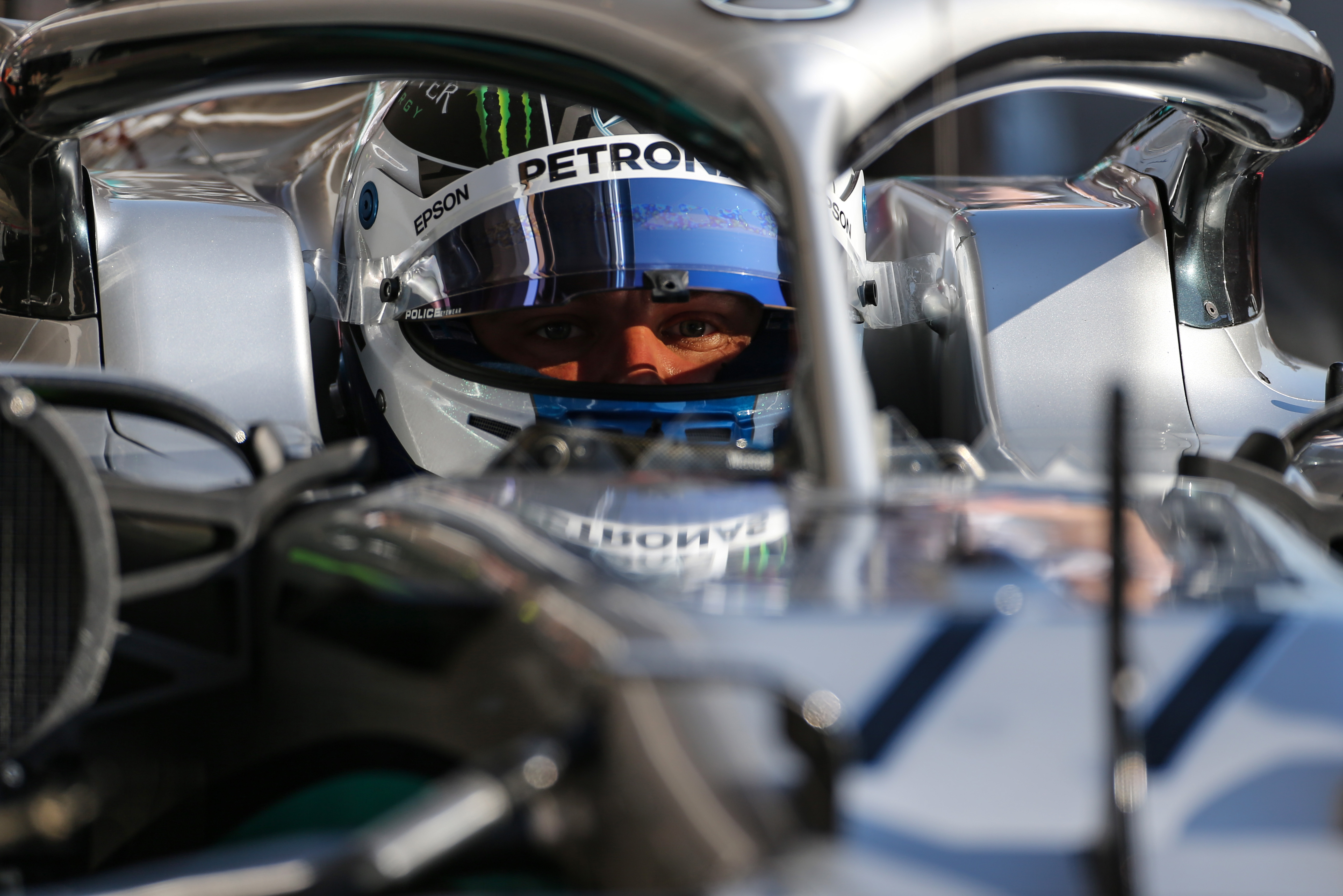 Valtteri Bottas Mercedes F1 testing 2020
