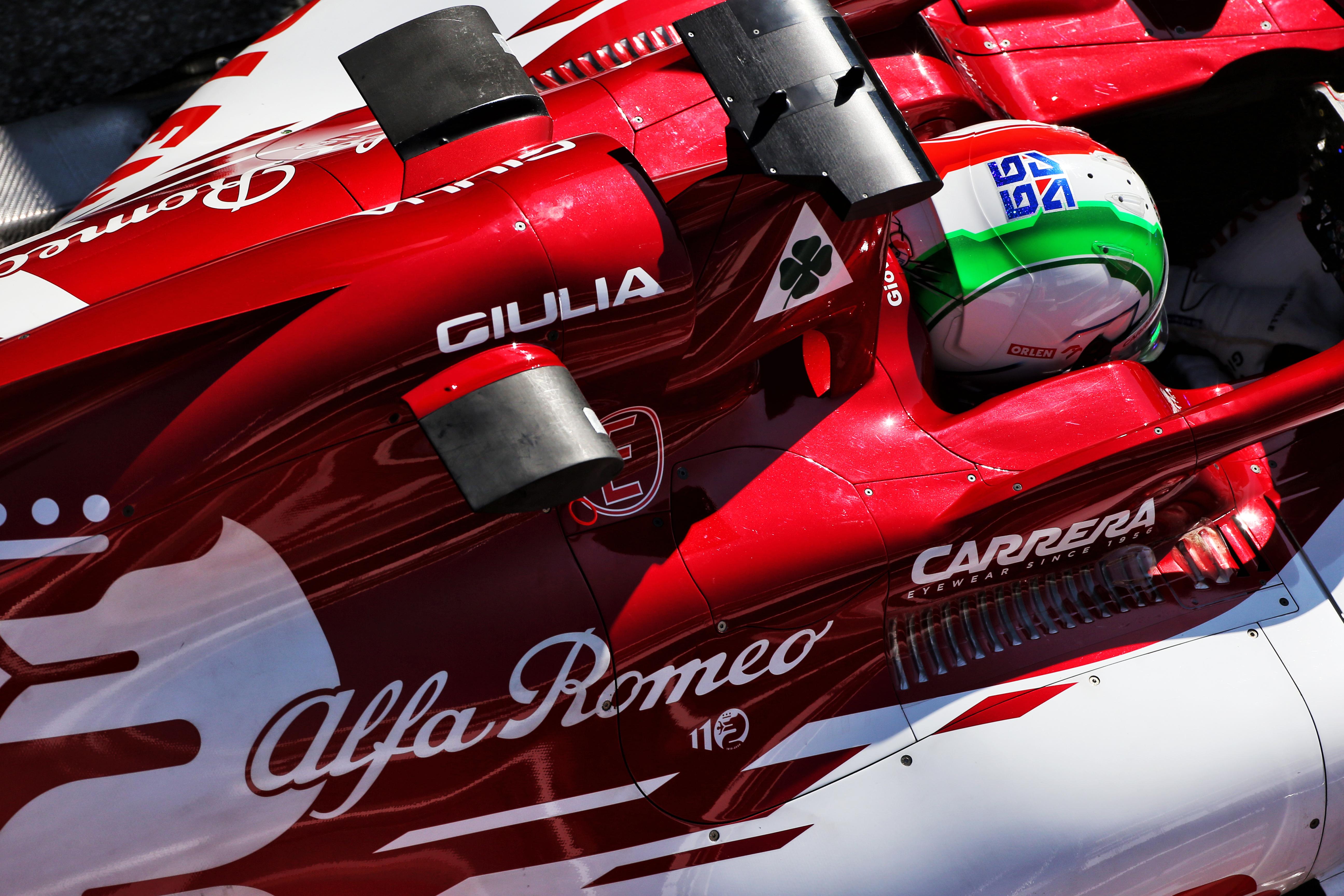 Alfa Romeo F1 testing Barcelona 2020