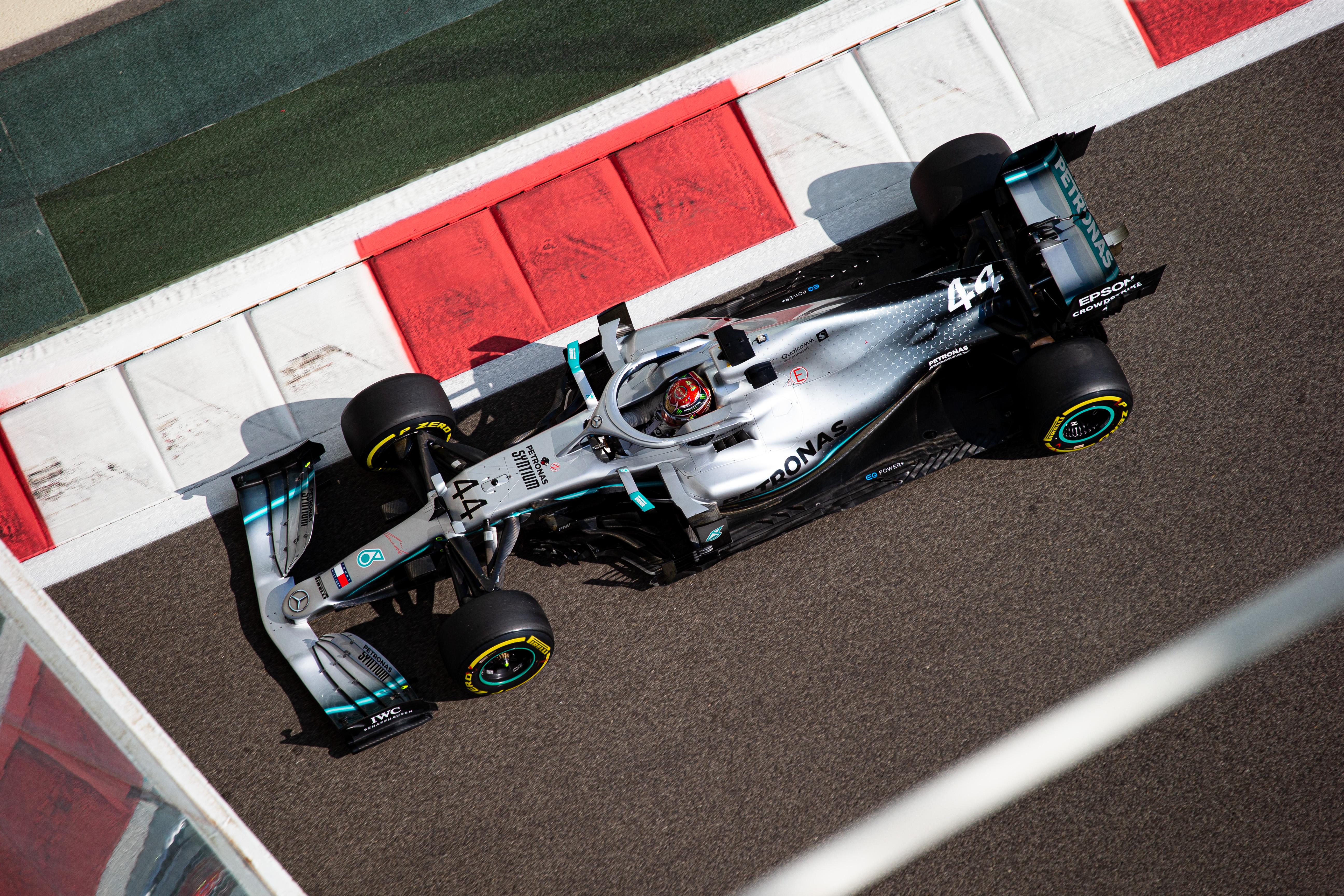 Mercedes F1 Abu Dhabi 2019