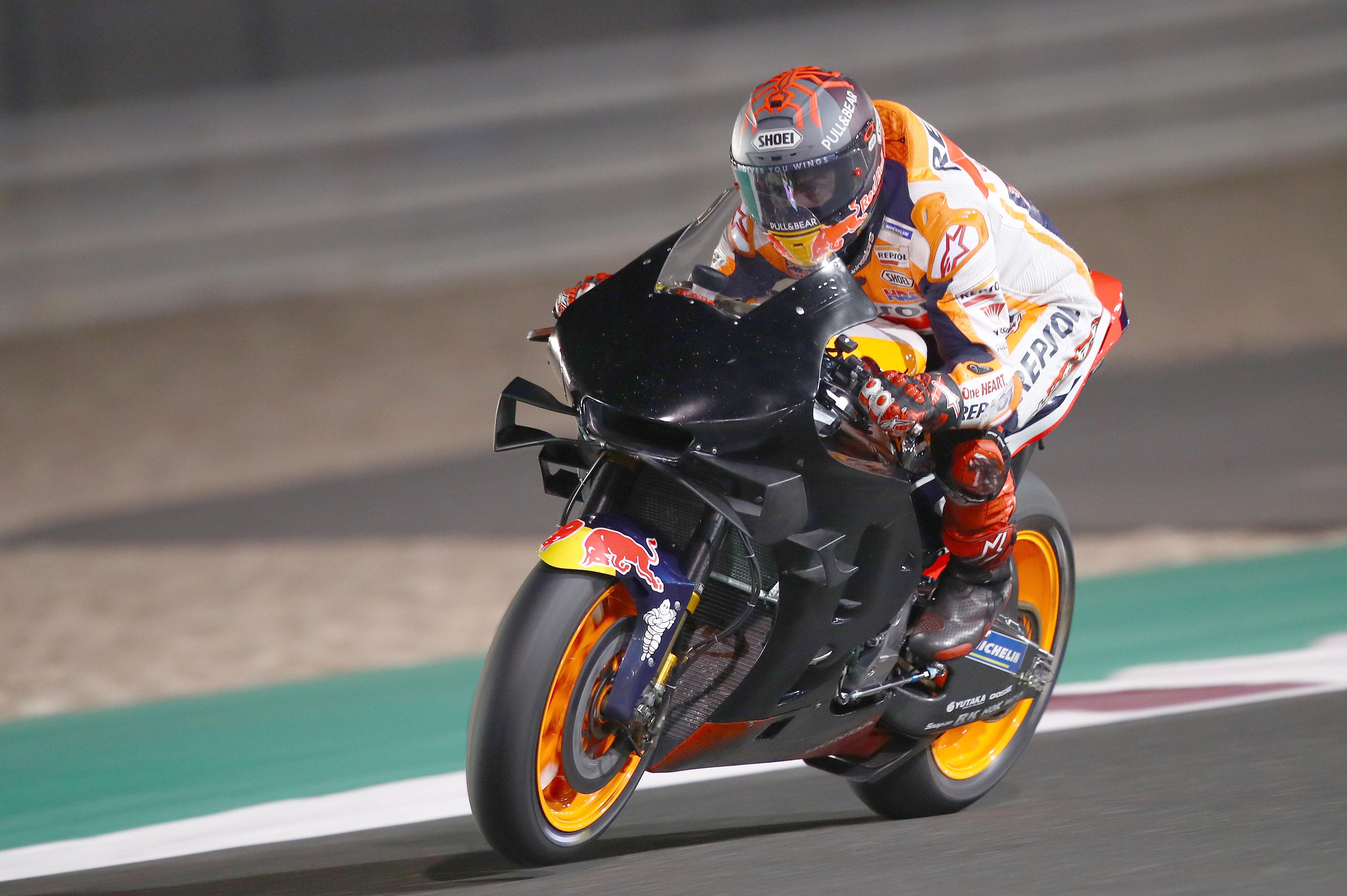 Marc Marquez Honda Qatar MotoGP testing 2020
