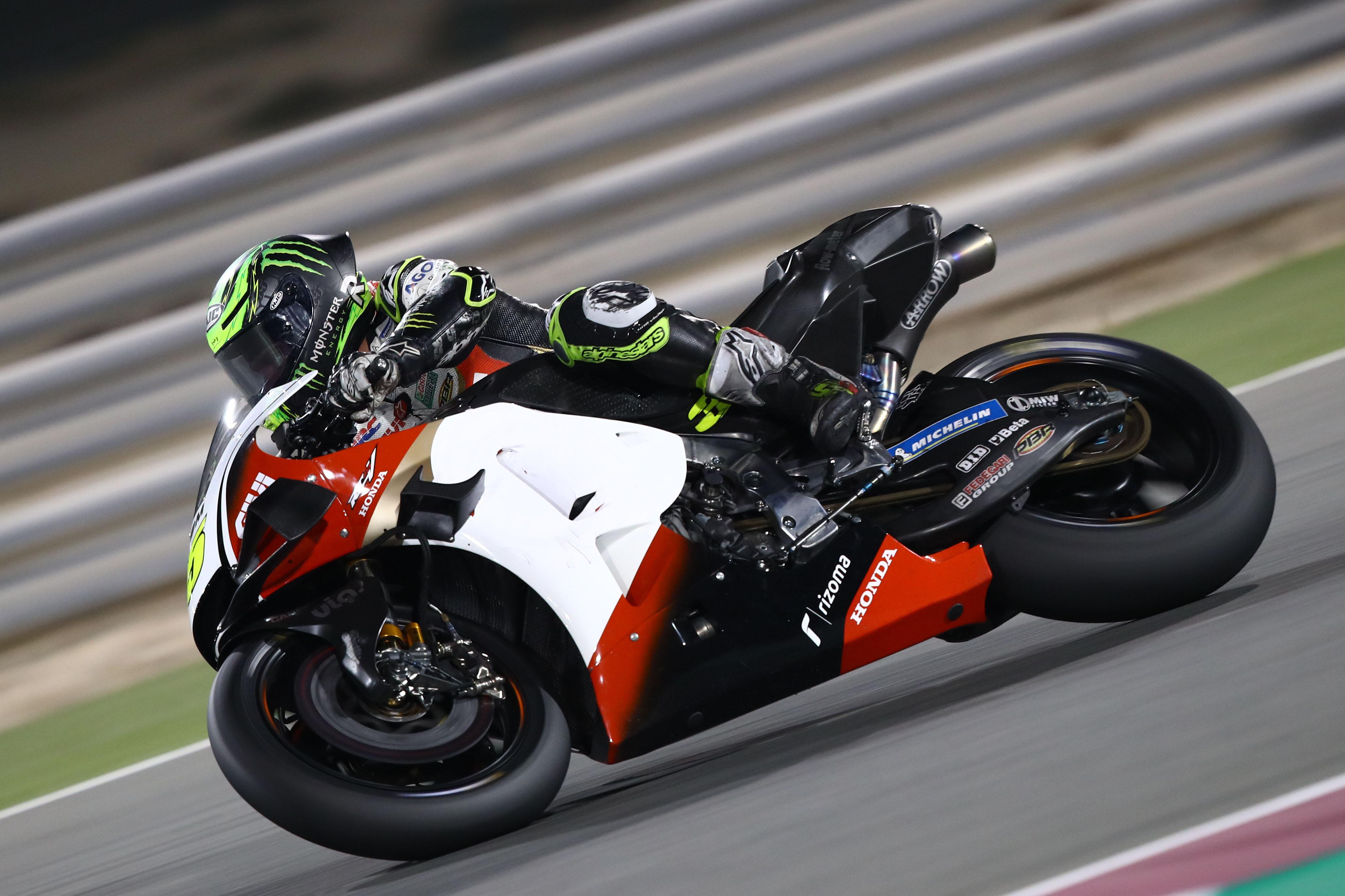 Cal Crutchlow LCR Honda Qatar MotoGP test 2020