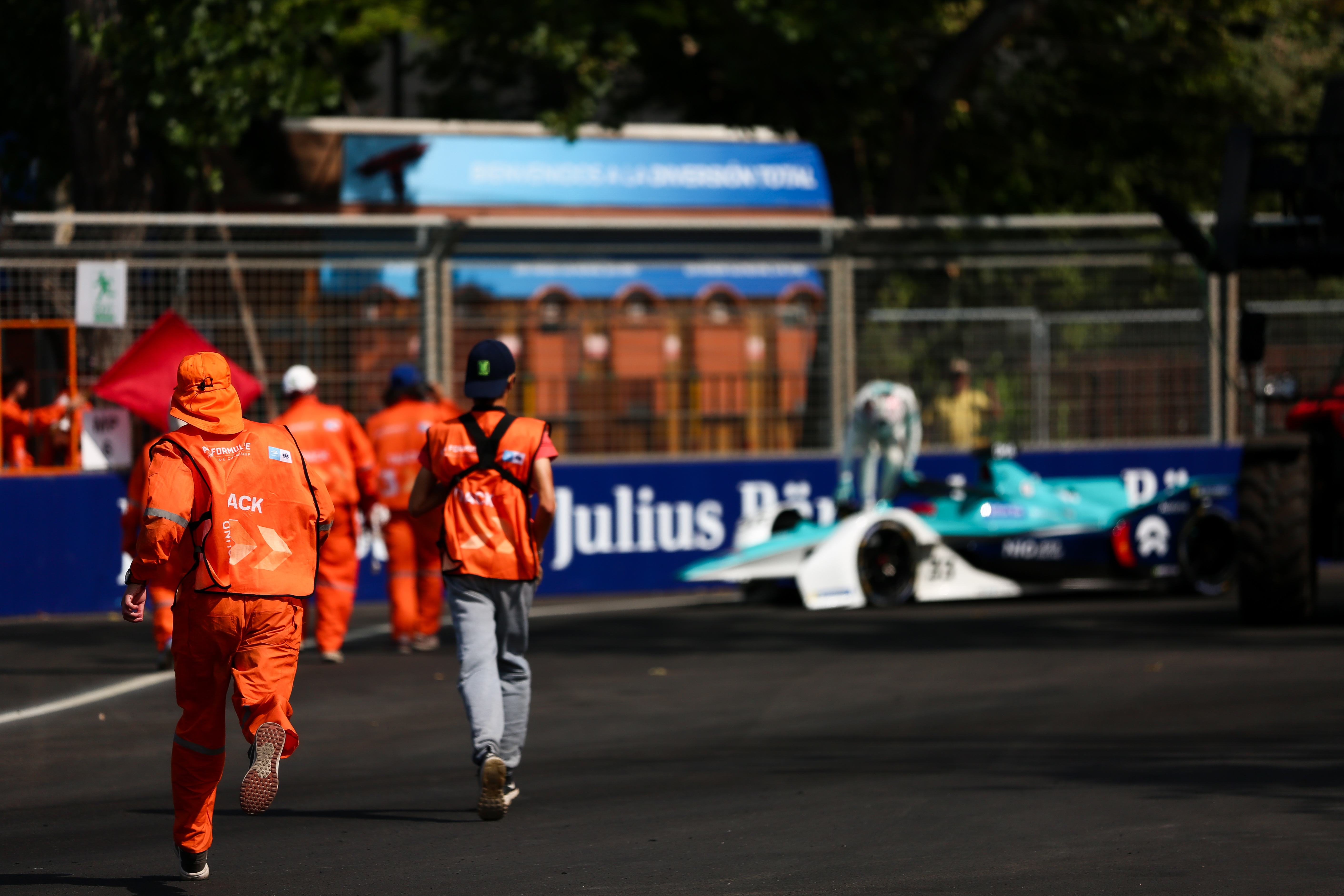 Ma Qing Hua crash Santiago Formula E 2020