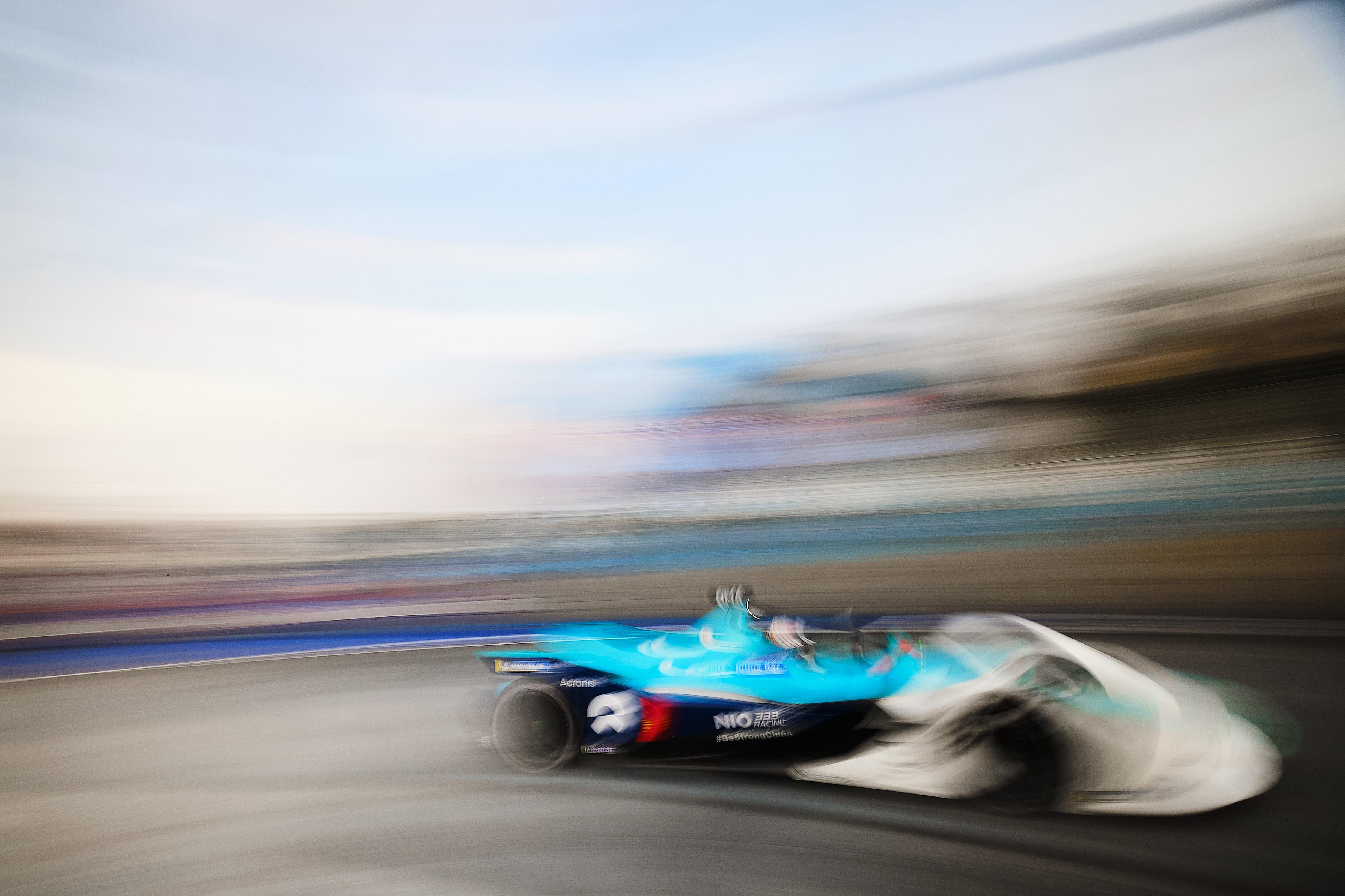 Ma Qing Hua NIO333 Mexico Formula E 2020