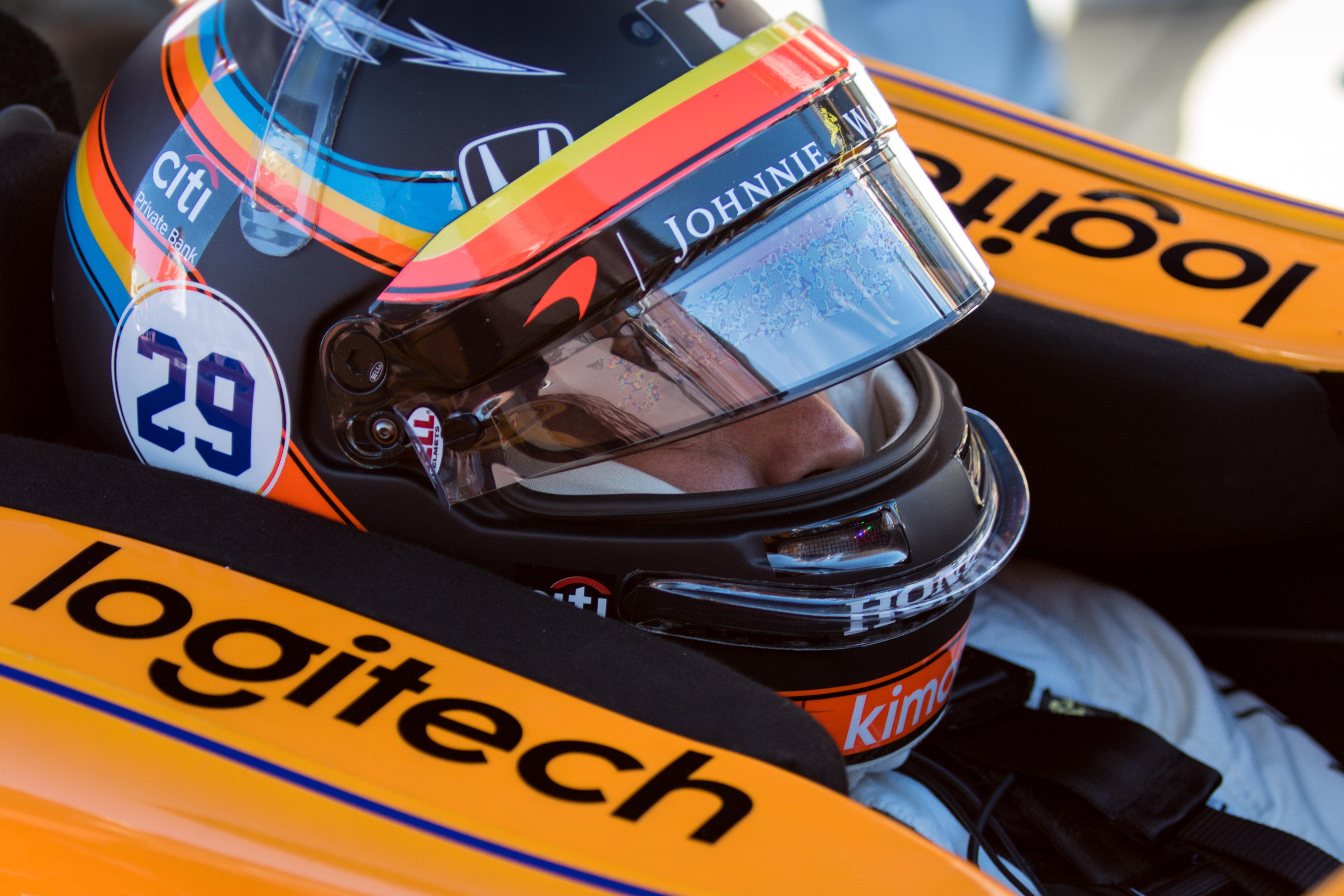 Fernando Alonso McLaren IndyCar 2017