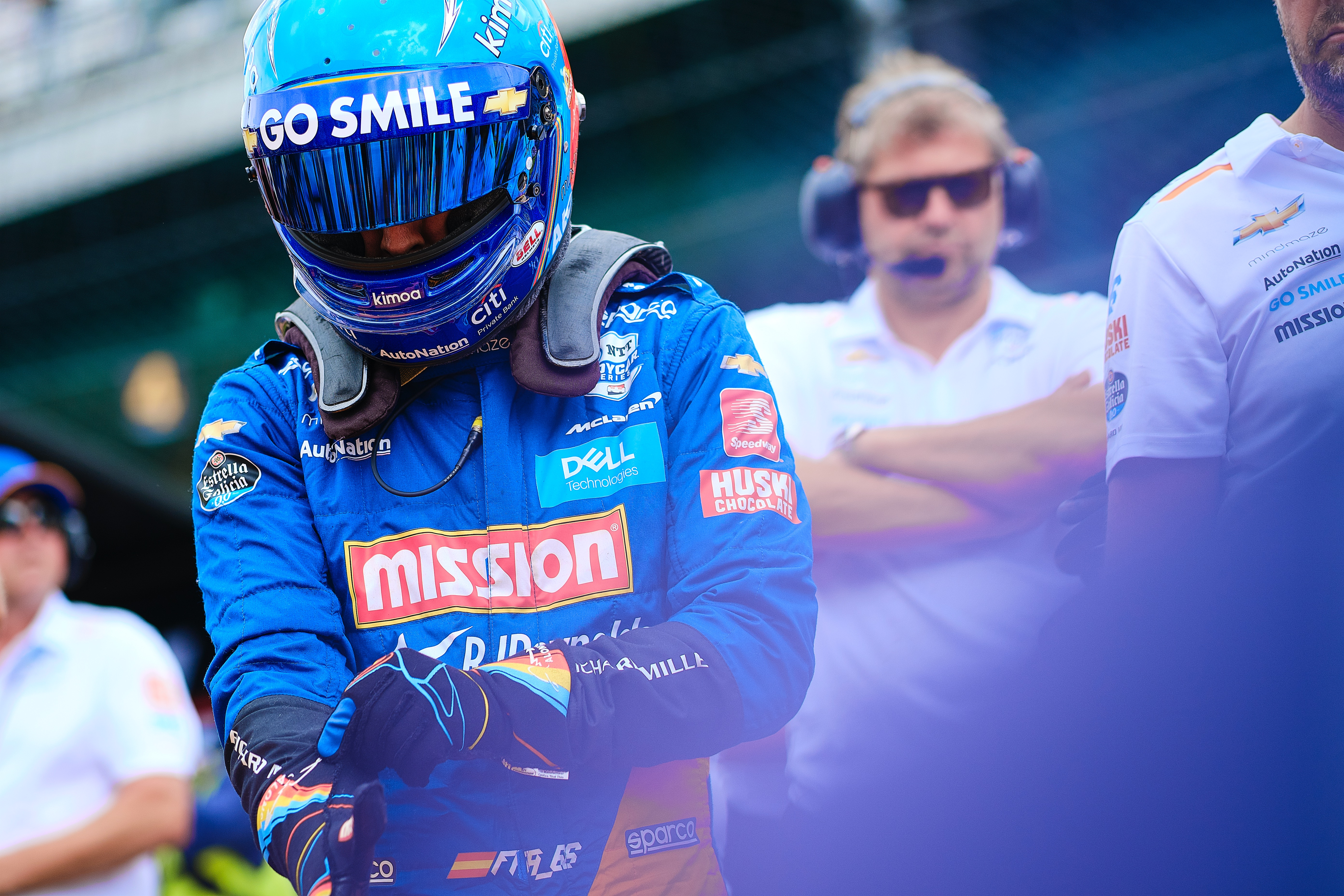 Fernando Alonso McLaren IndyCar 2019