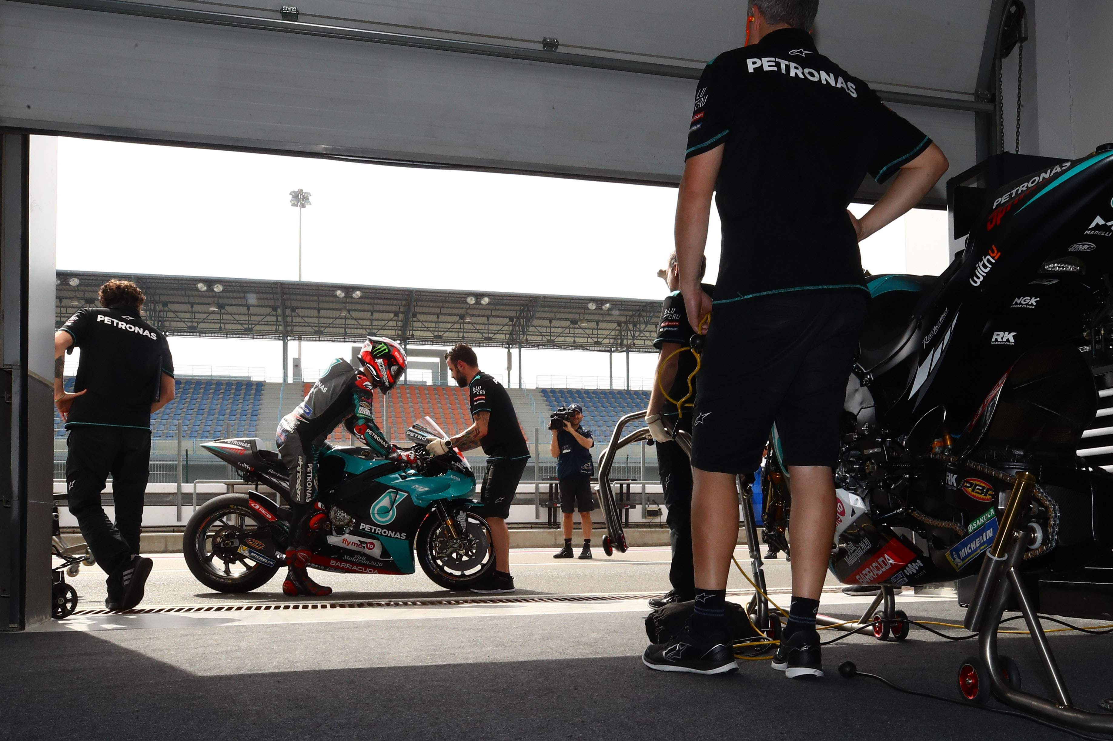 Petronas SRT garage