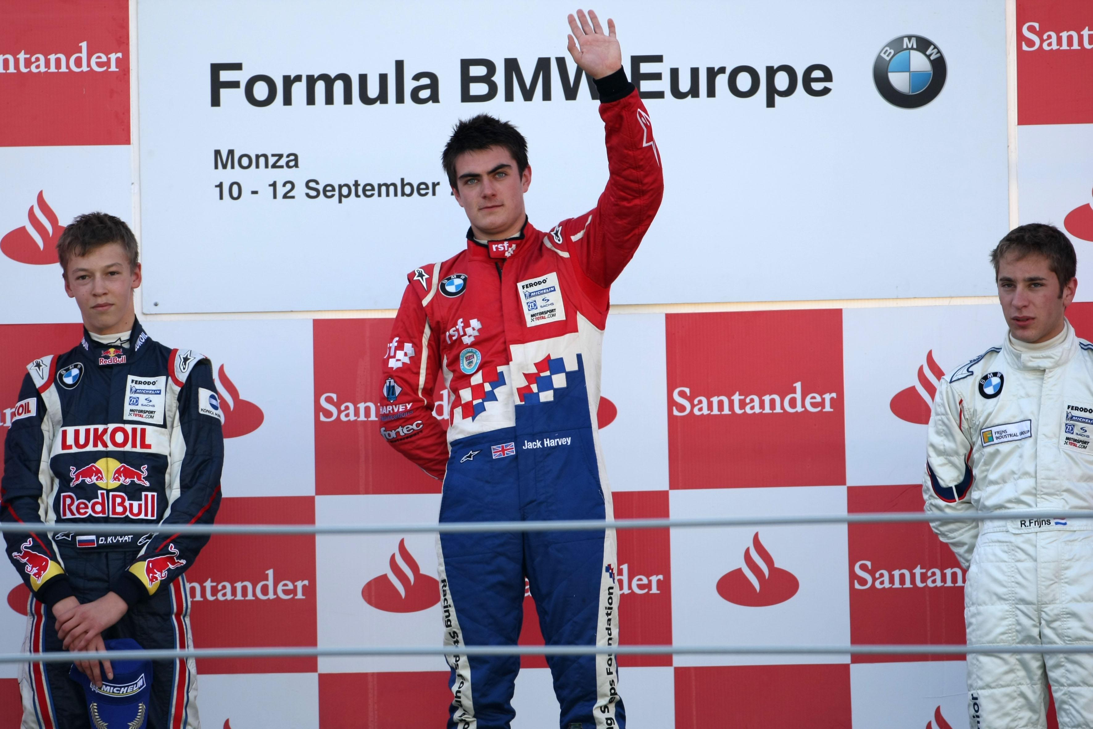 Formula Bmw Europe 2010, Rd 15 & 16, Monza, Italy, Sunday Podium
