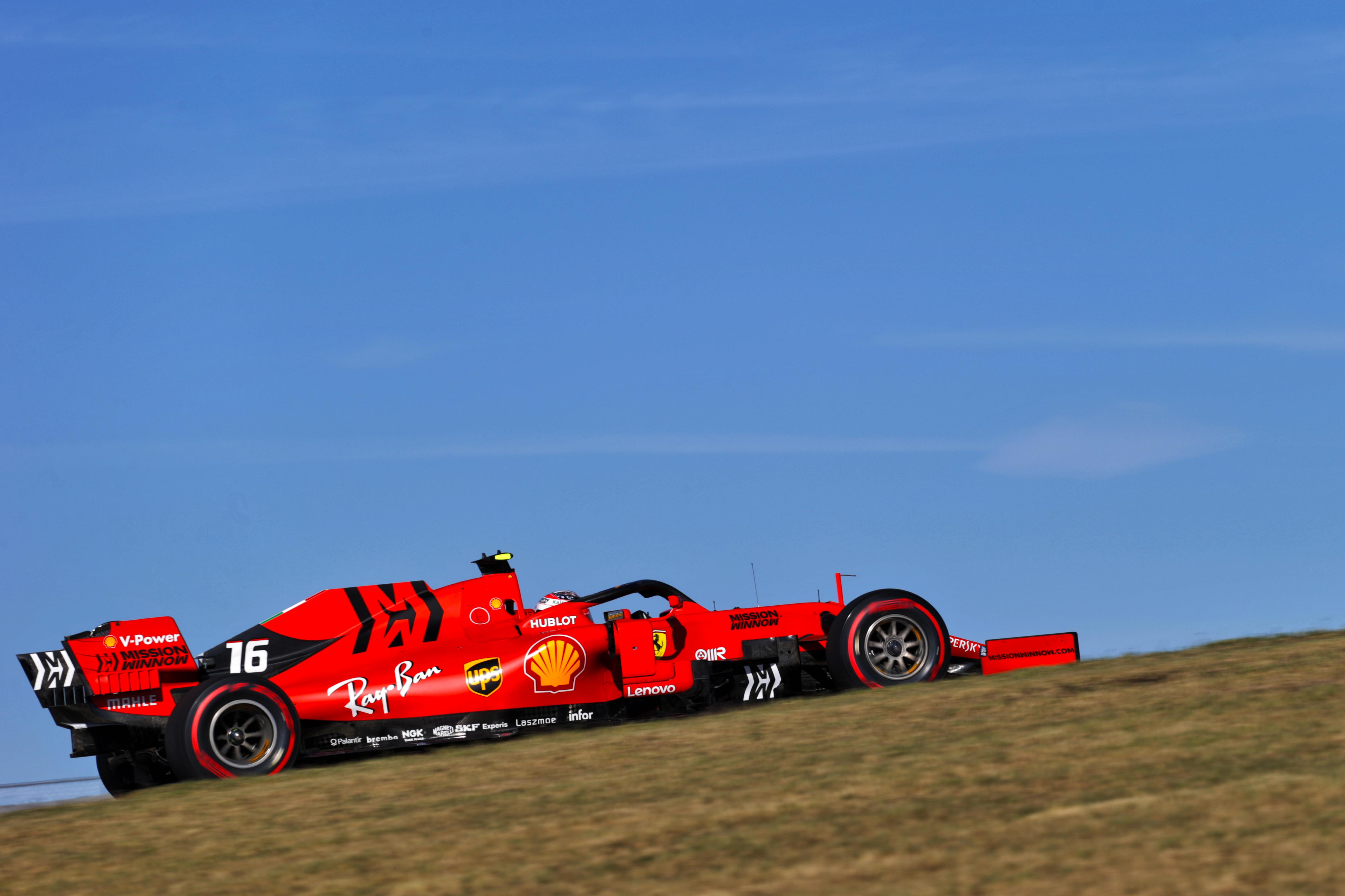 Charles Leclerc Ferrari US GP 2019 Austin