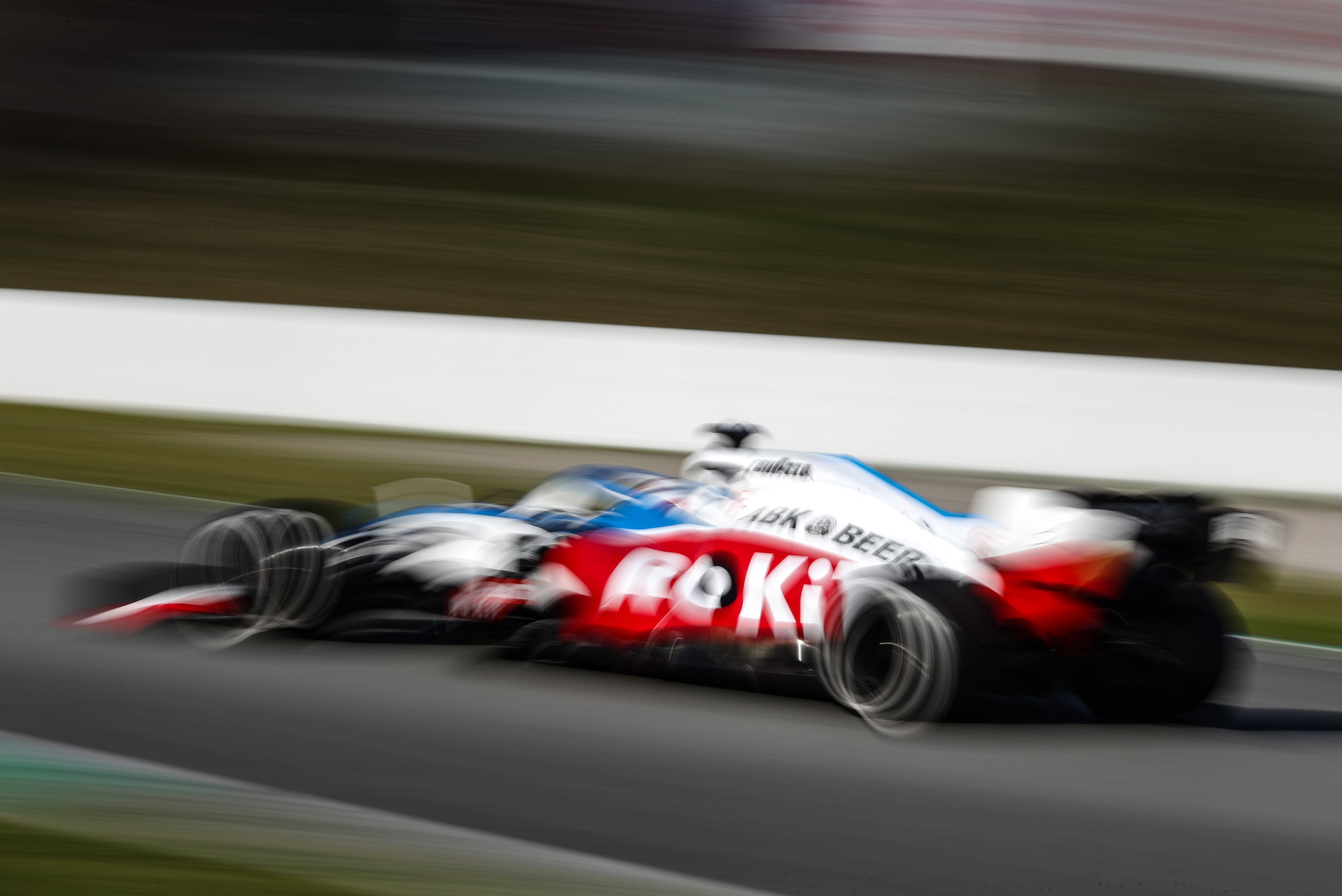 Motor Racing Formula One Testing Test Two Day 2 Barcelona, Spain