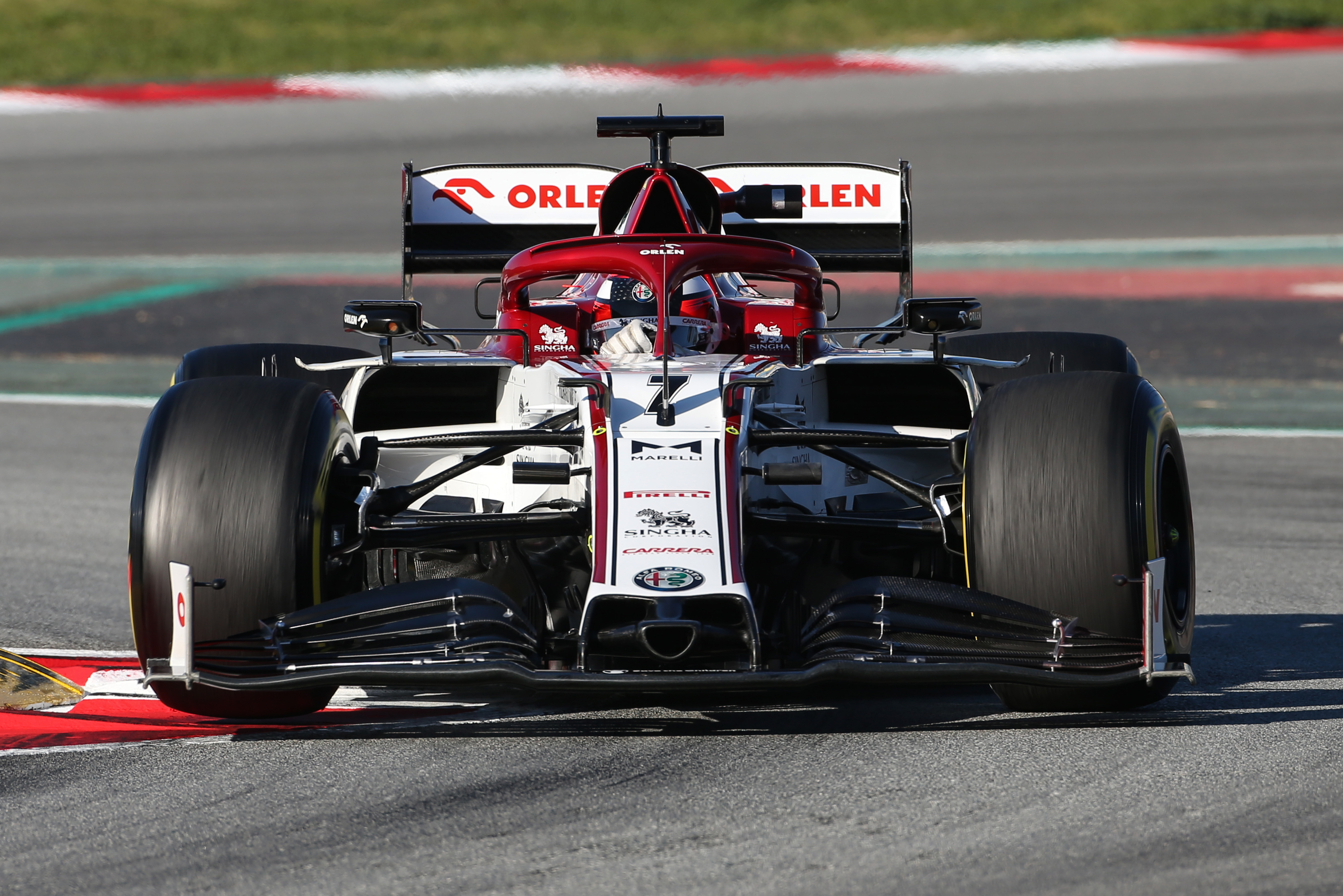 Motor Racing Formula One Testing Test Two Day 3 Barcelona, Spain