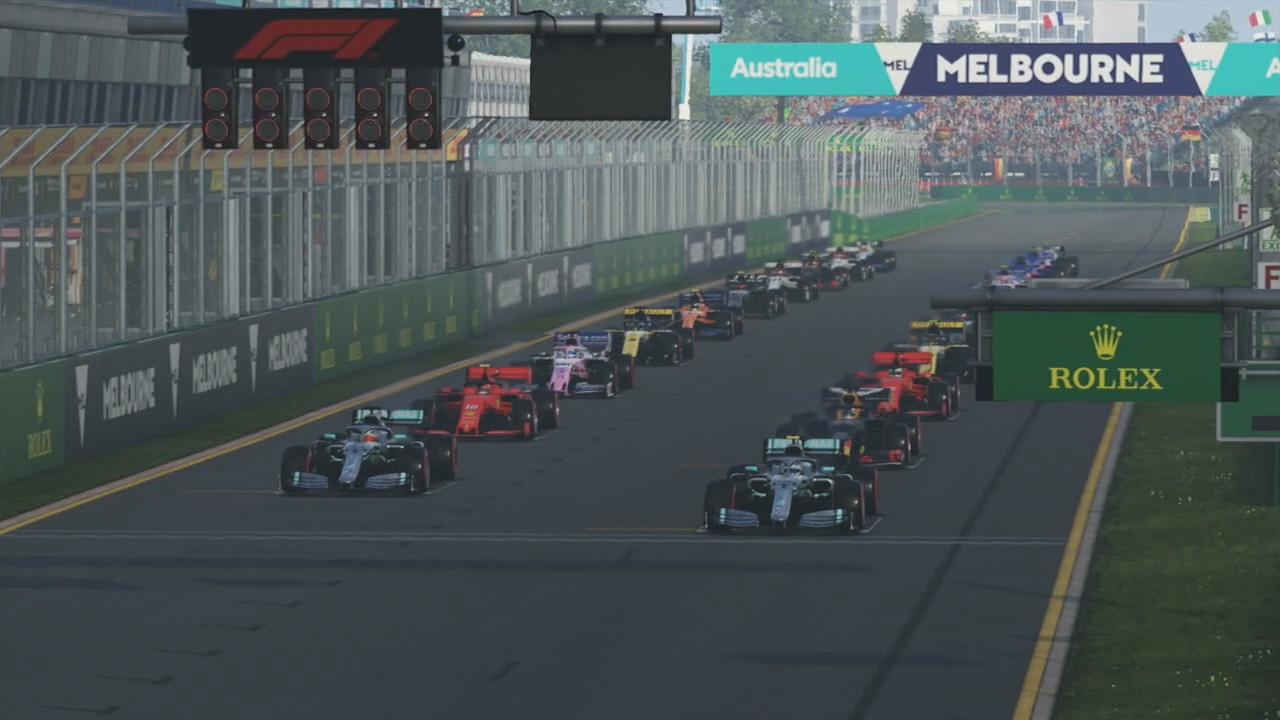 F1 2019 Game Australia Pic