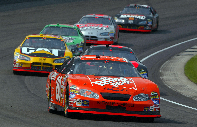 Tony Stewart Indianapolis NASCAR 2005
