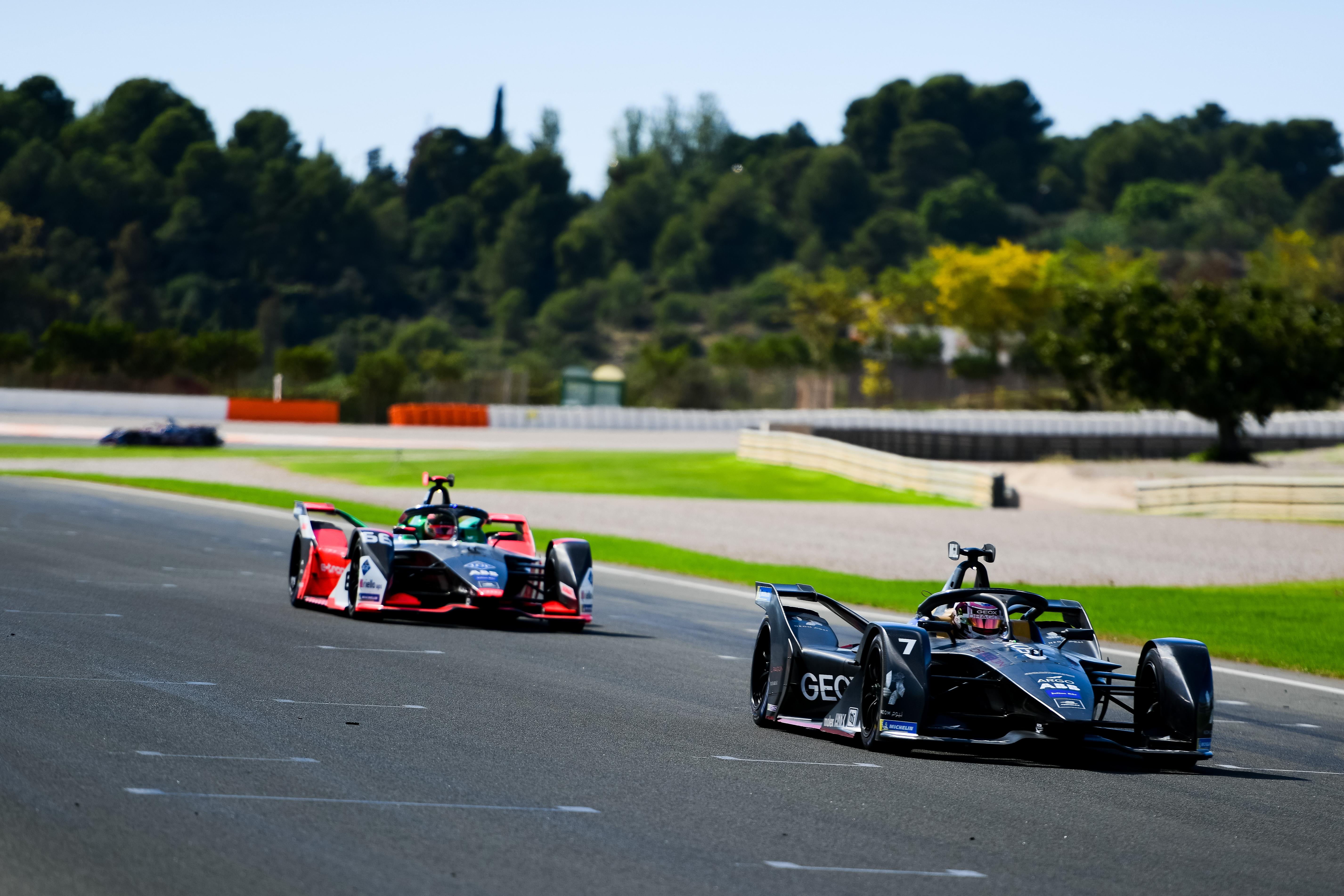 Valencia Formula E testing 2019