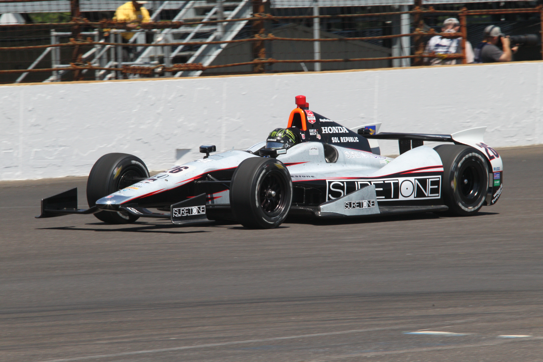 Kurt Busch Indy 500 2014