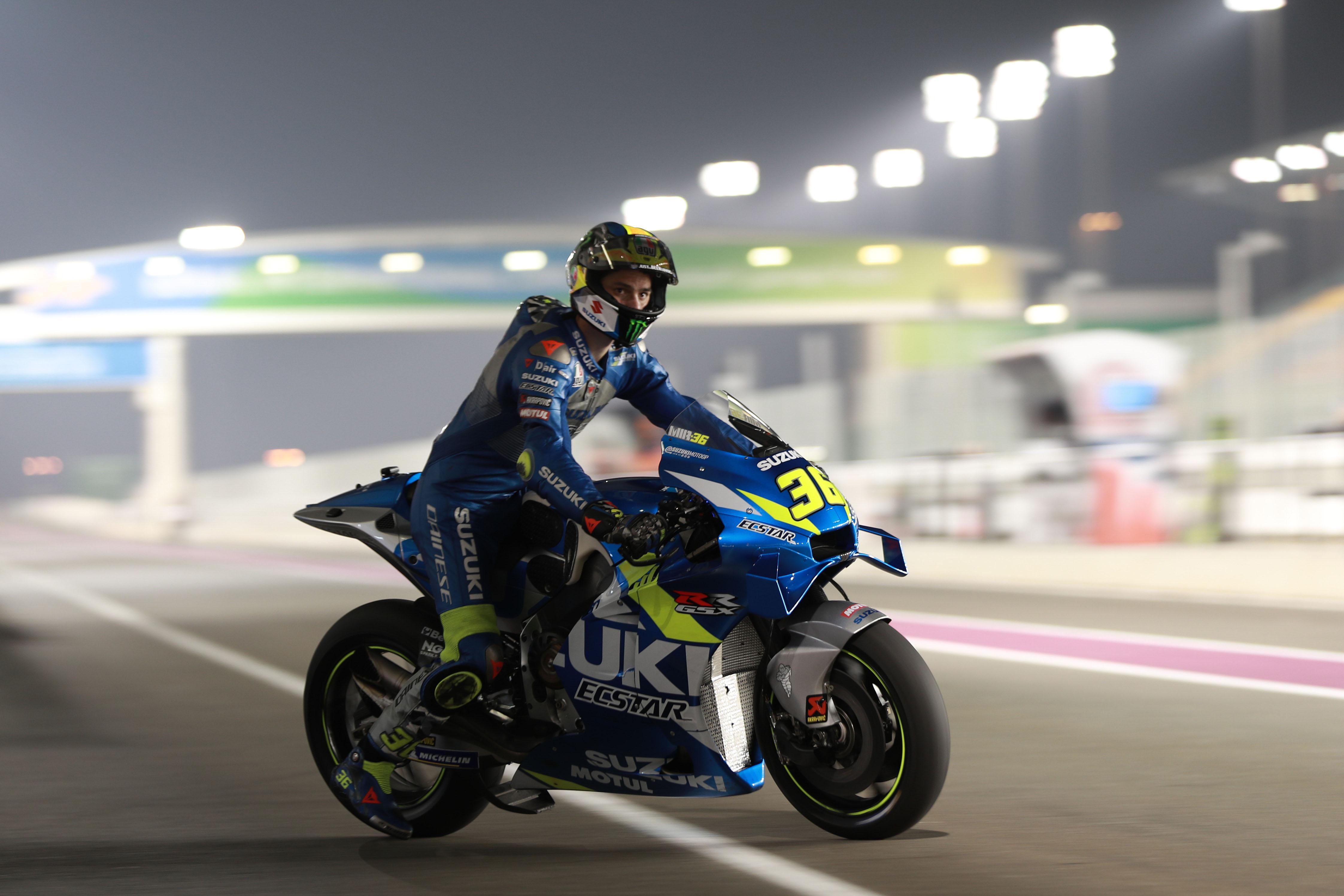 Joan Mir Suzuki MotoGP testing 2020