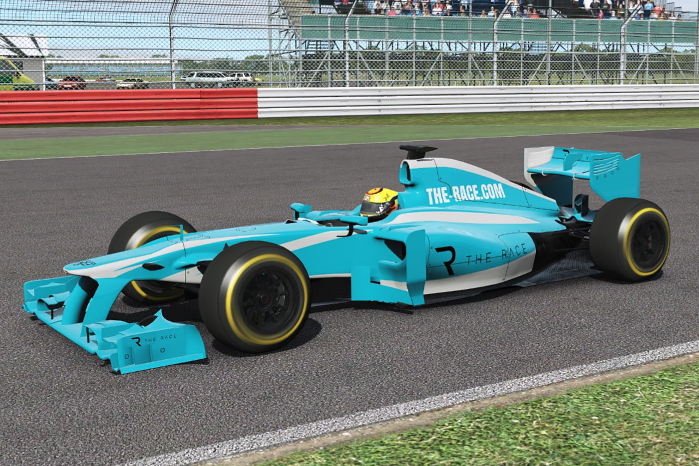 The Race All-Star Esports Battle rFactor 2 F1 livery