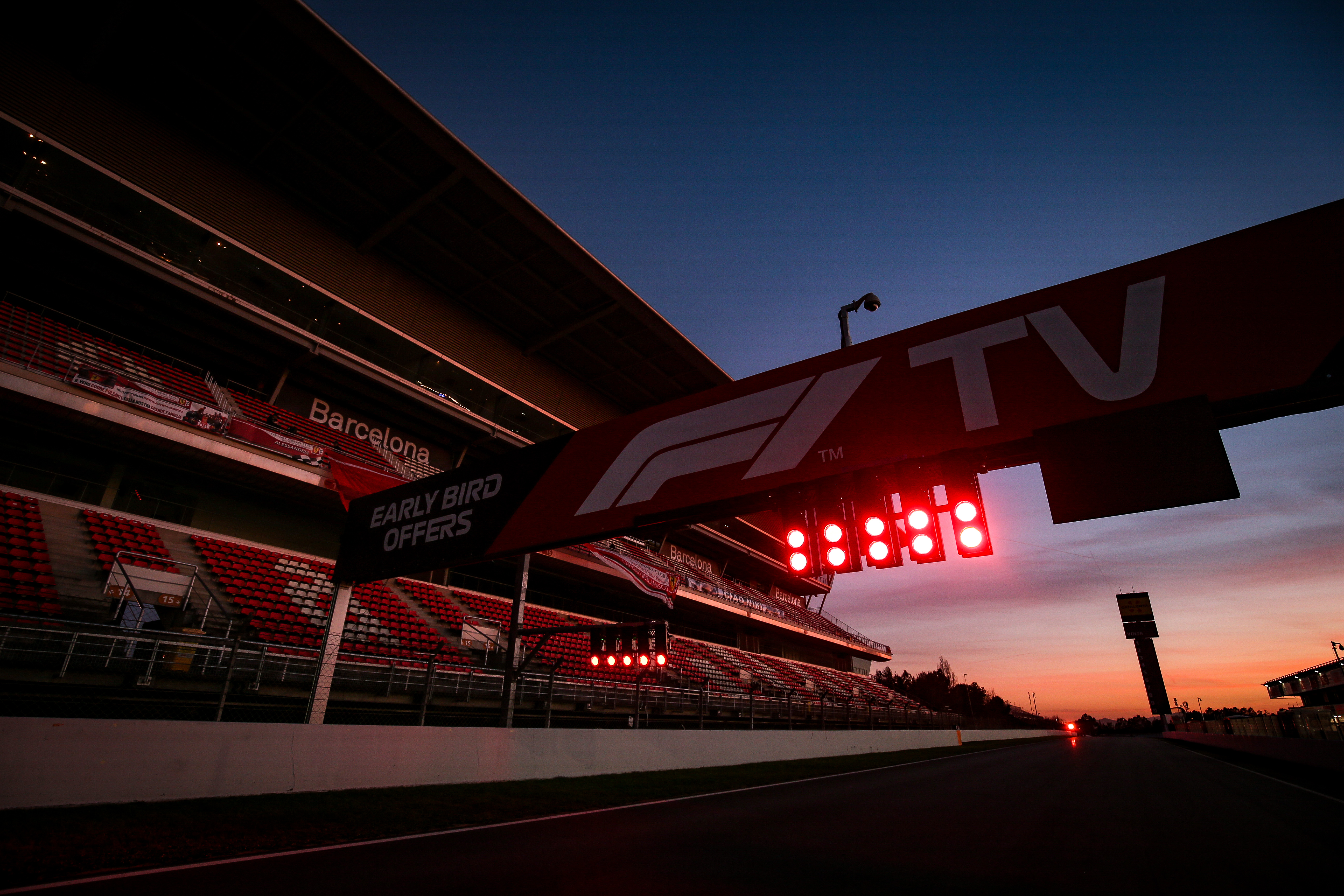 Barcelona testing F1 2020