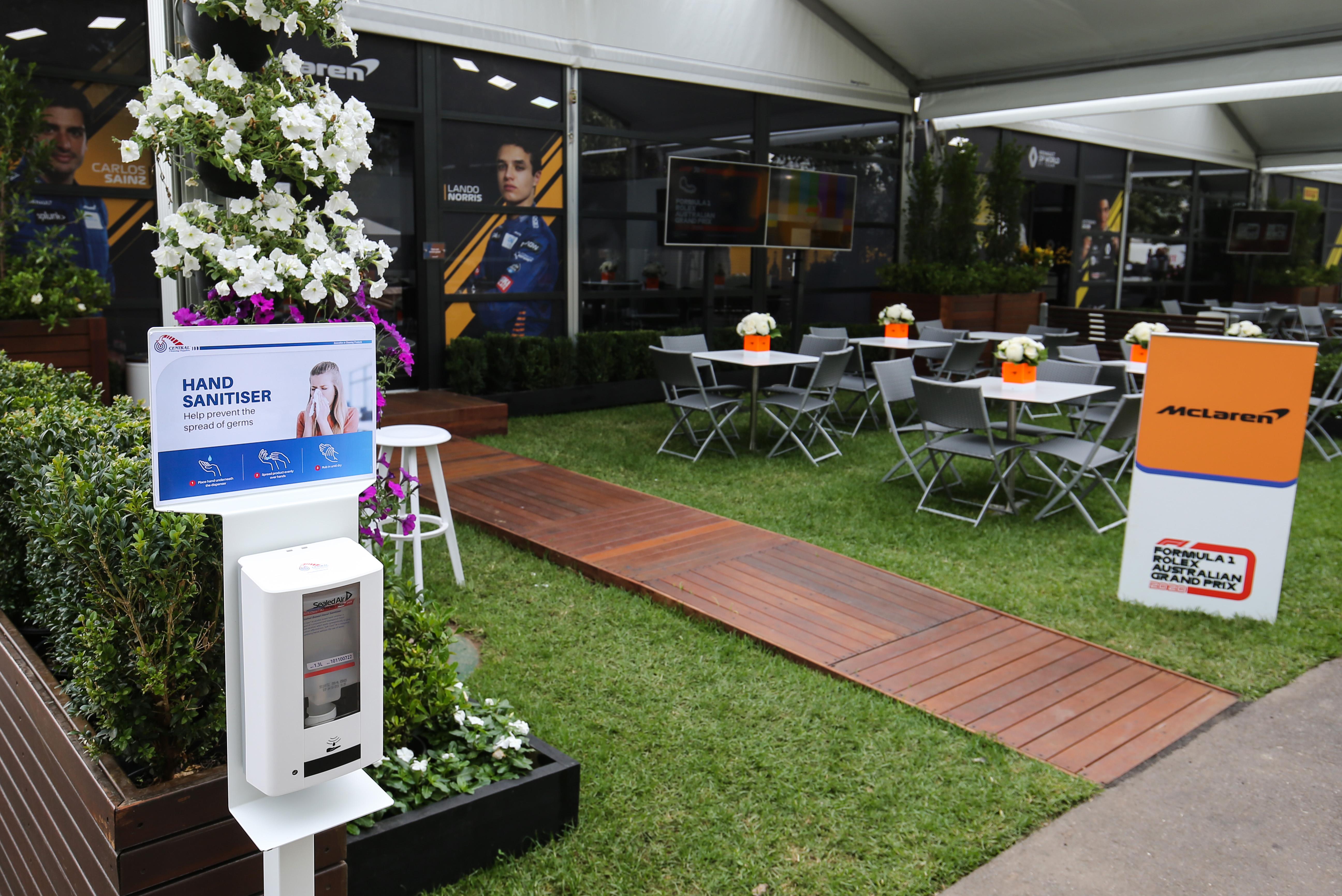 McLaren F1 Australia Melbourne Albert Park 2020