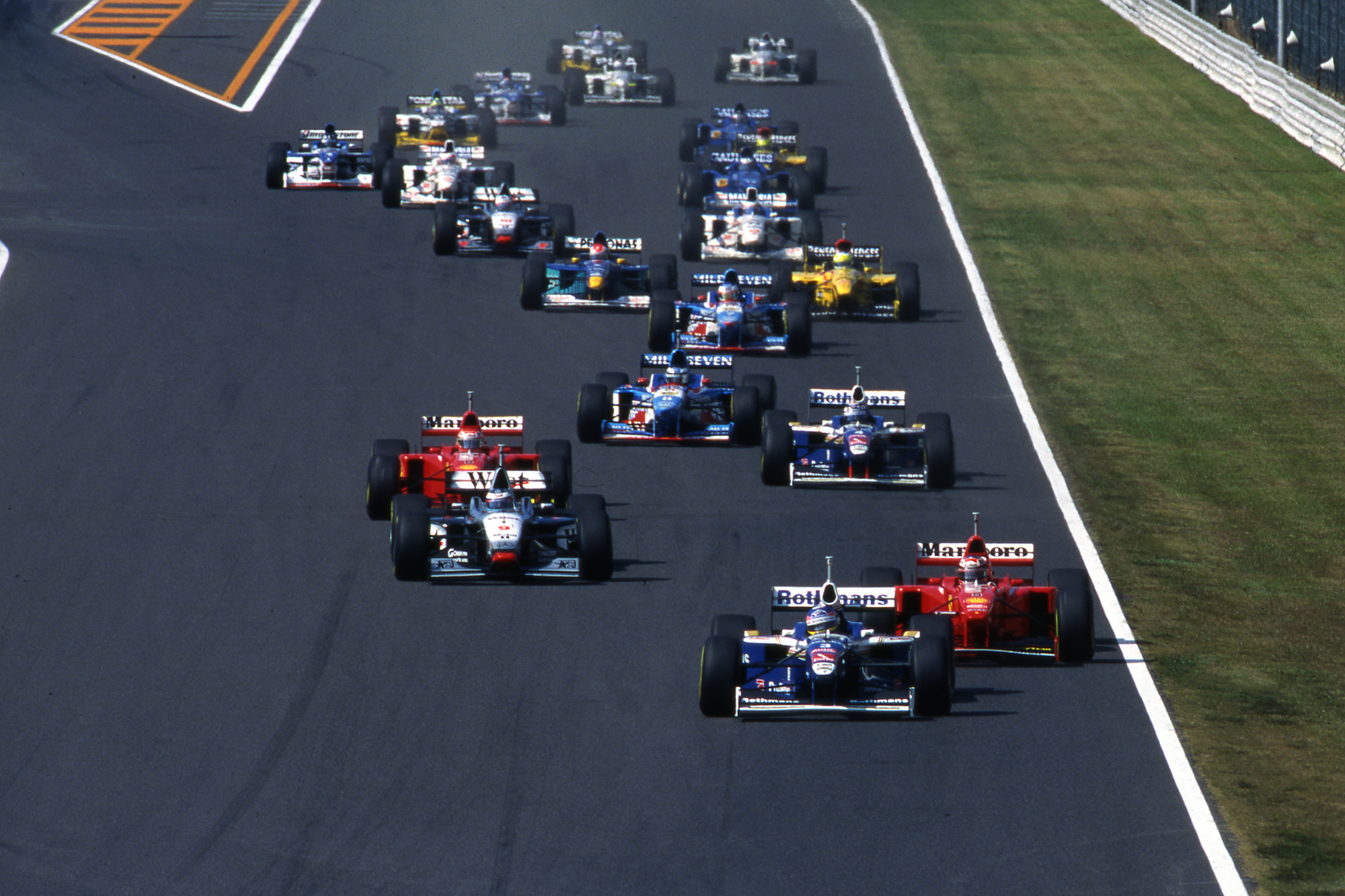 Jacques Villeneuve Williams Japanese Grand Prix 1997 Suzuka