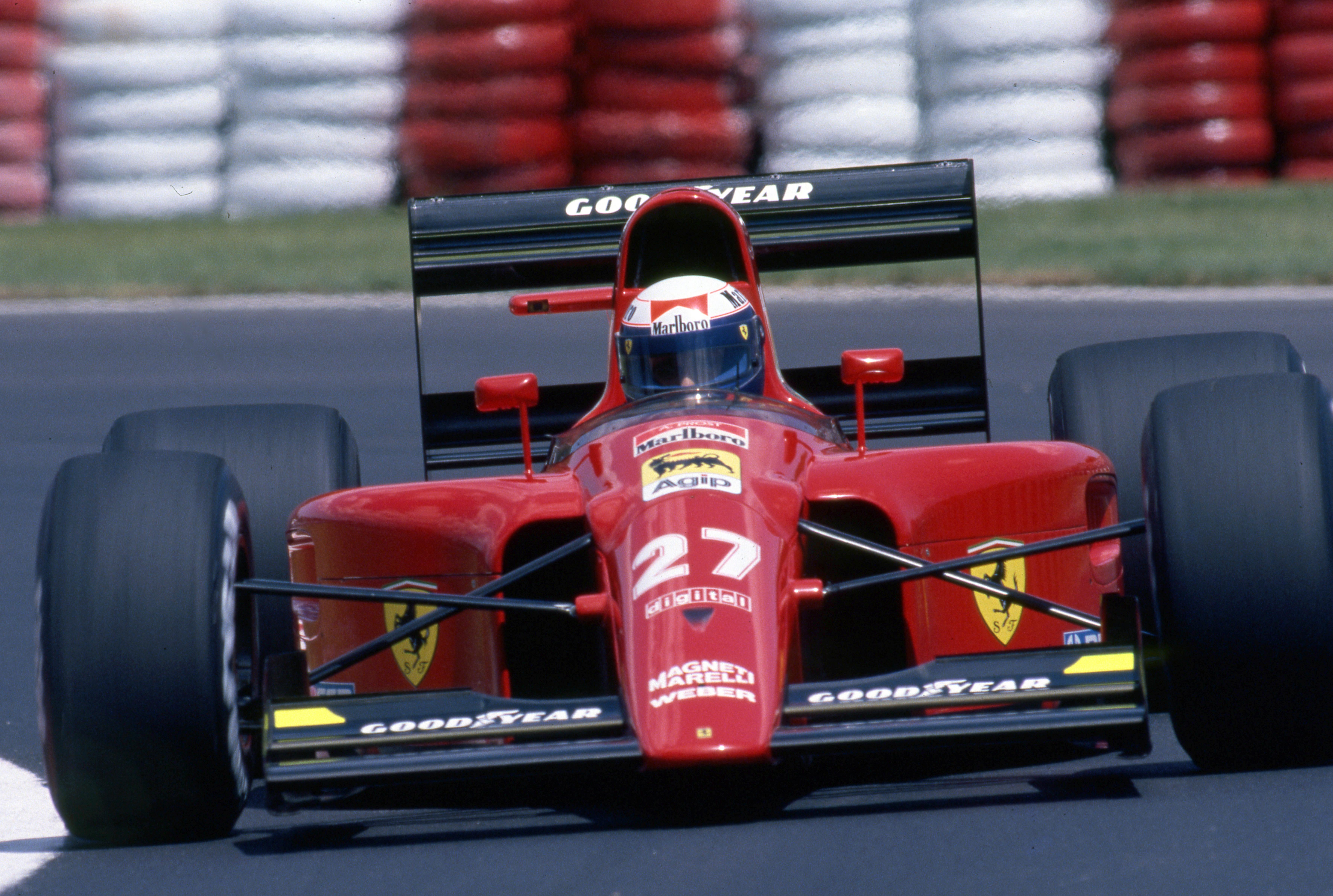 Alain Prost Ferrari F1 1991 Canadian Grand Prix